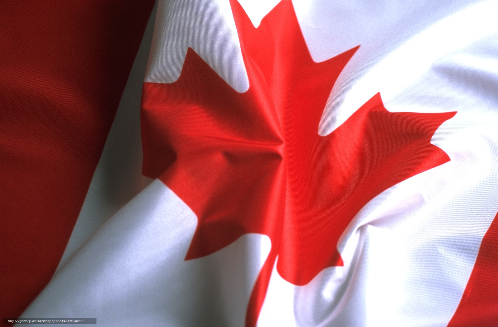 Скачать обои флаг,  лист,  канада бесплатно для рабочего стола в разрешении 2400x1577 — картинка №498291