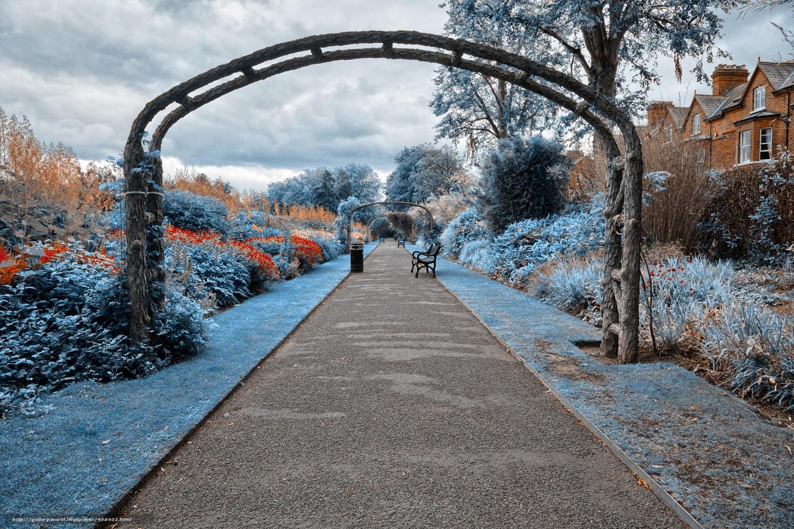 scaricare gli sfondi parco,  giardino,  traccia,  negozi Sfondi gratis per la risoluzione del desktop 2560x1707 — immagine №498401
