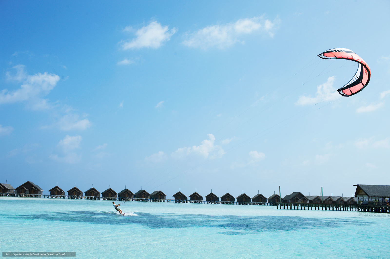 Download wallpaper Maldives,  tropics,  bungalow free desktop wallpaper in the resolution 2000x1325 — picture №498566