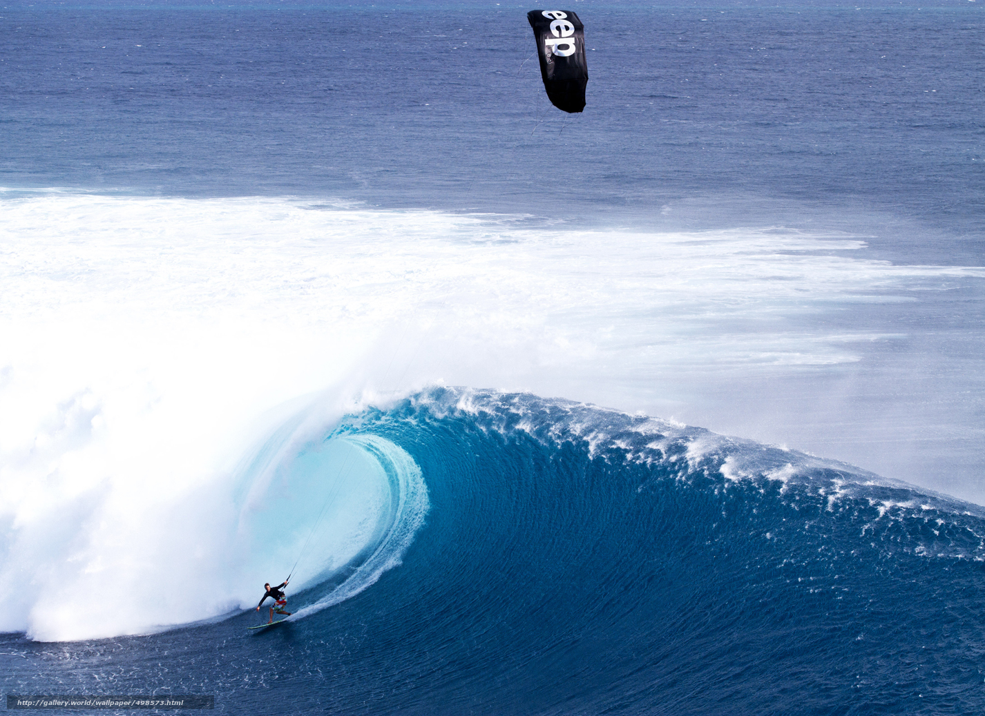 Download wallpaper Maldives, tropics, Wave, Kitesurfing free desktop wallpaper in the resolution ...