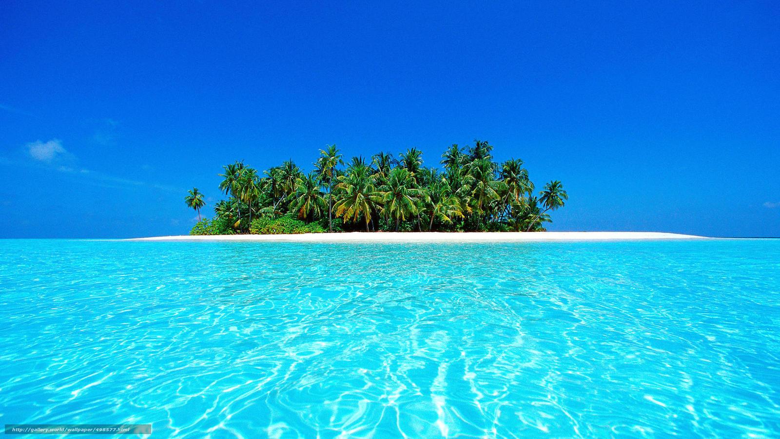 Scaricare Gli Sfondi Maldive Tropici Spiaggia Isola Sfondi Gratis