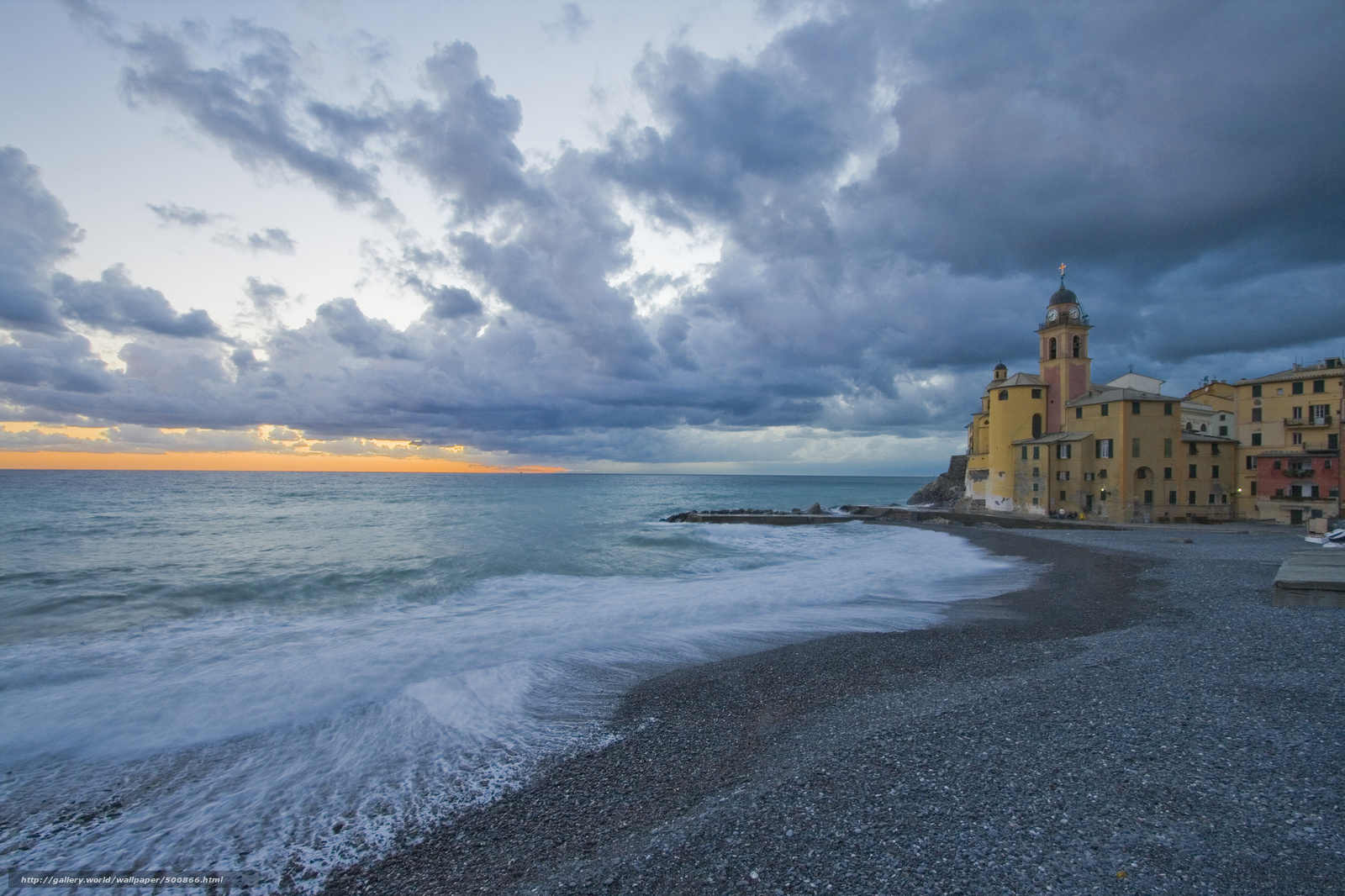 Scaricare Gli Sfondi Camogli Liguria Italia Camogli