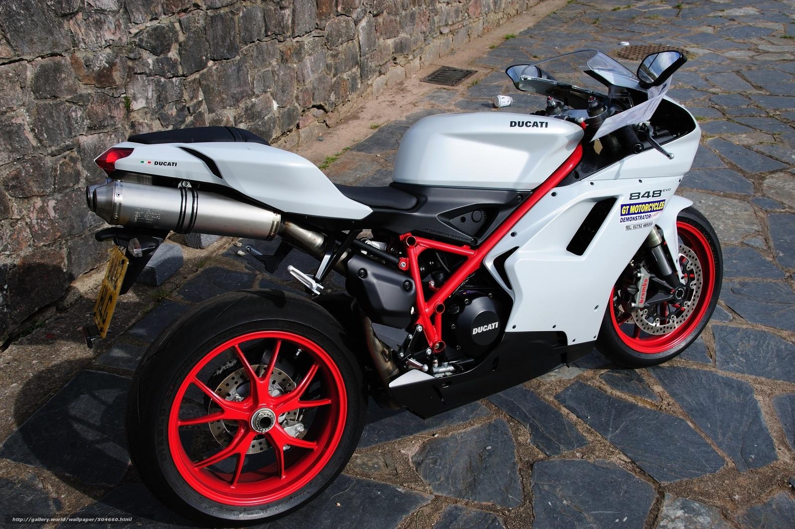 scaricare gli sfondi Ducati,  848,  Ducati,  motocicletta Sfondi gratis per la risoluzione del desktop 2560x1703 — immagine №504660