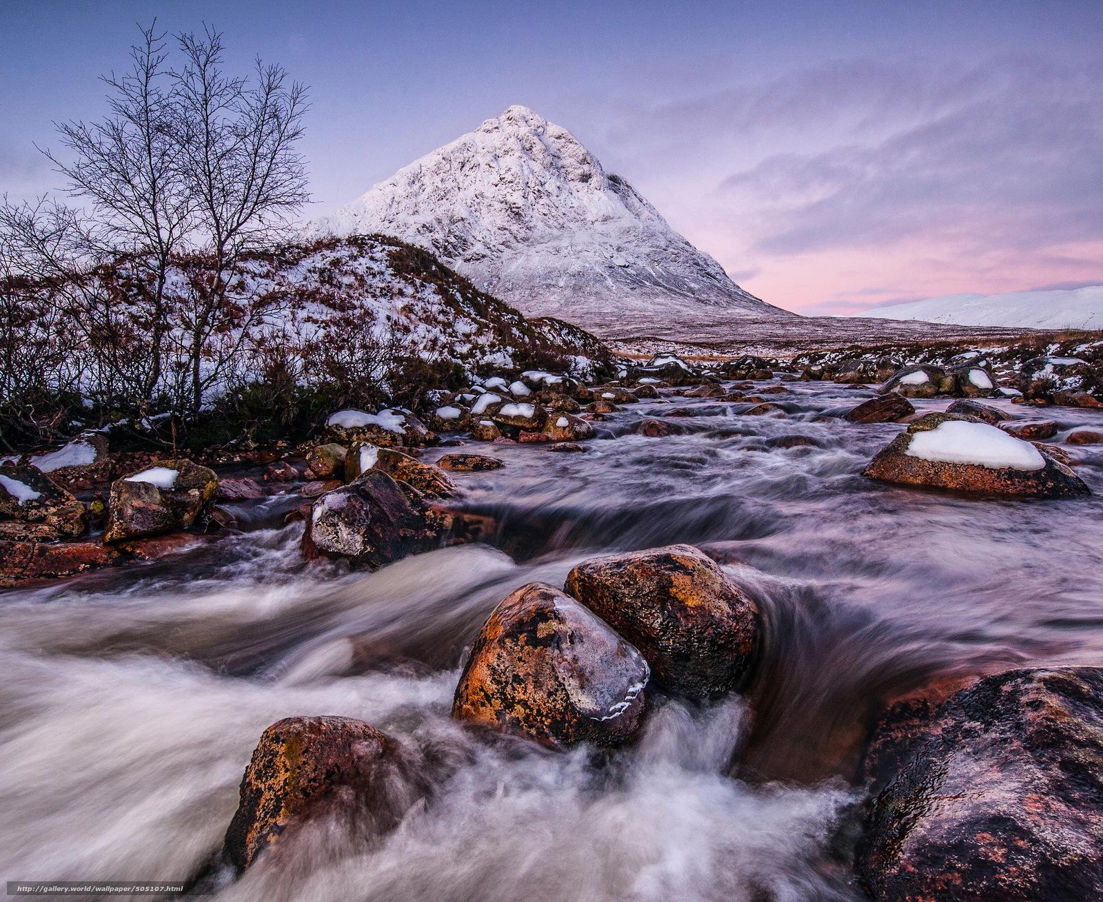 Scaricare gli sfondi montagna fiume ruscello inverno for Sfondi desktop inverno montagna