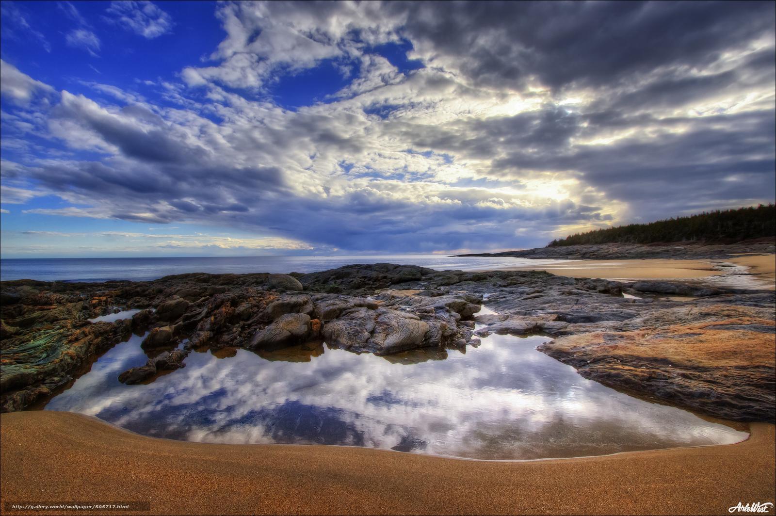 Download wallpaper sea,  coast,  forest,  beach free desktop wallpaper in the resolution 2048x1362 — picture №505717
