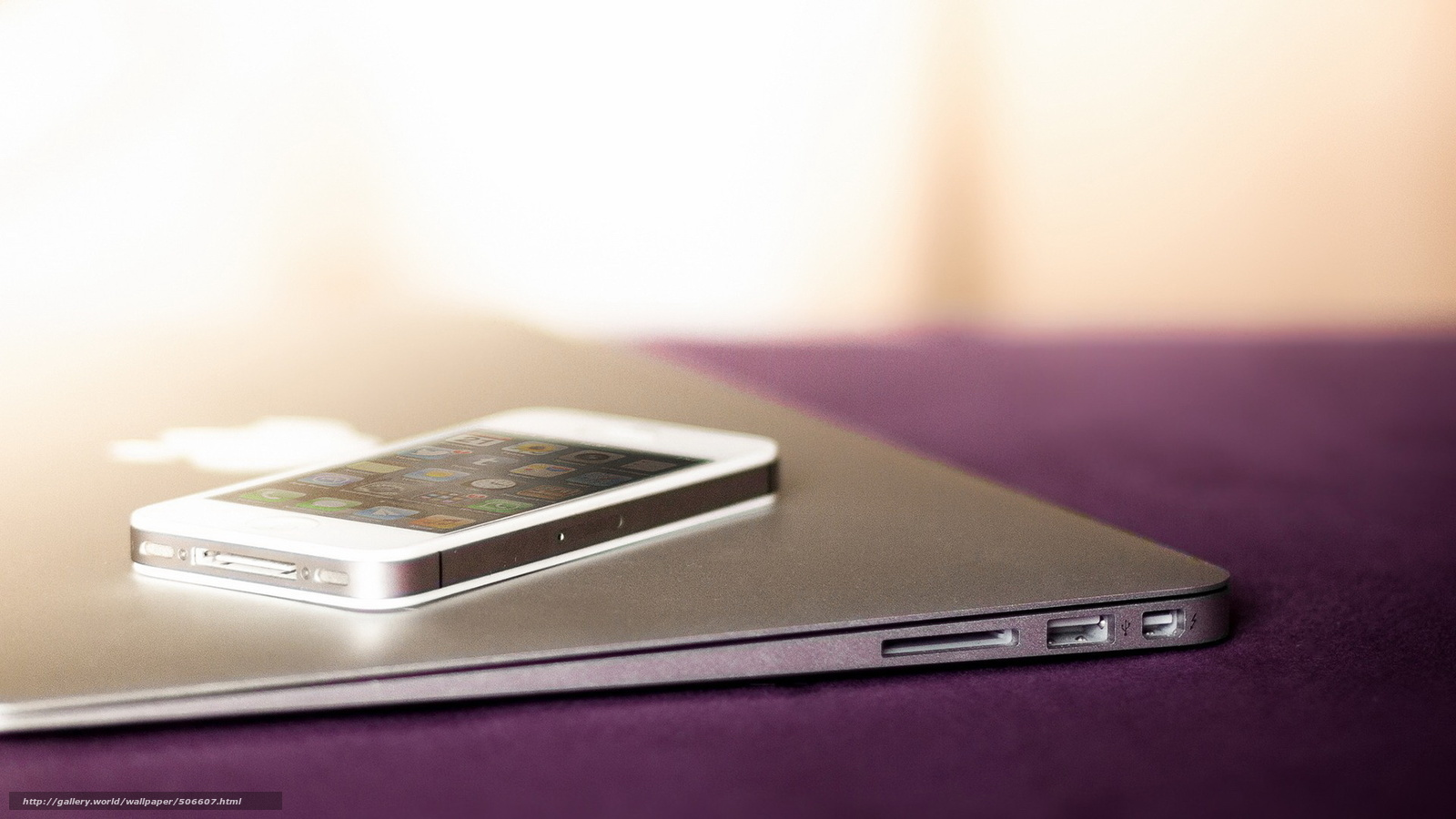 Descargar Gratis Iphone 5 Macbook Iphone Macbook Fondos border=