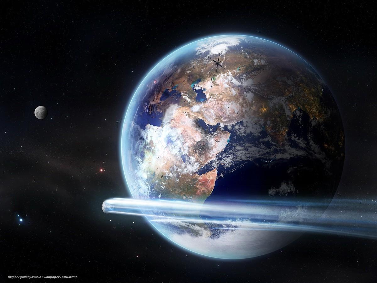 Descargar gratis planeta,  tierra,  Espacio Fondos de escritorio en la resolucin 1600x1200 — imagen №506