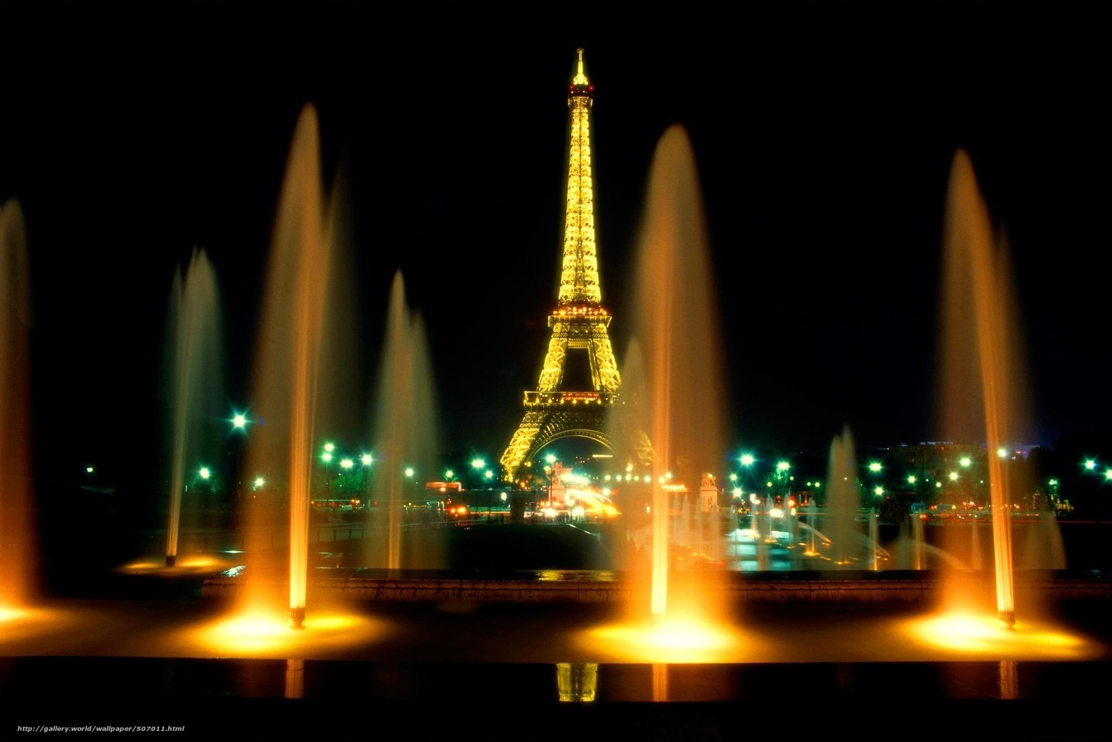 Скачать обои paris,  eiffel tower,  город бесплатно для рабочего стола в разрешении 1999x1333 — картинка №507011
