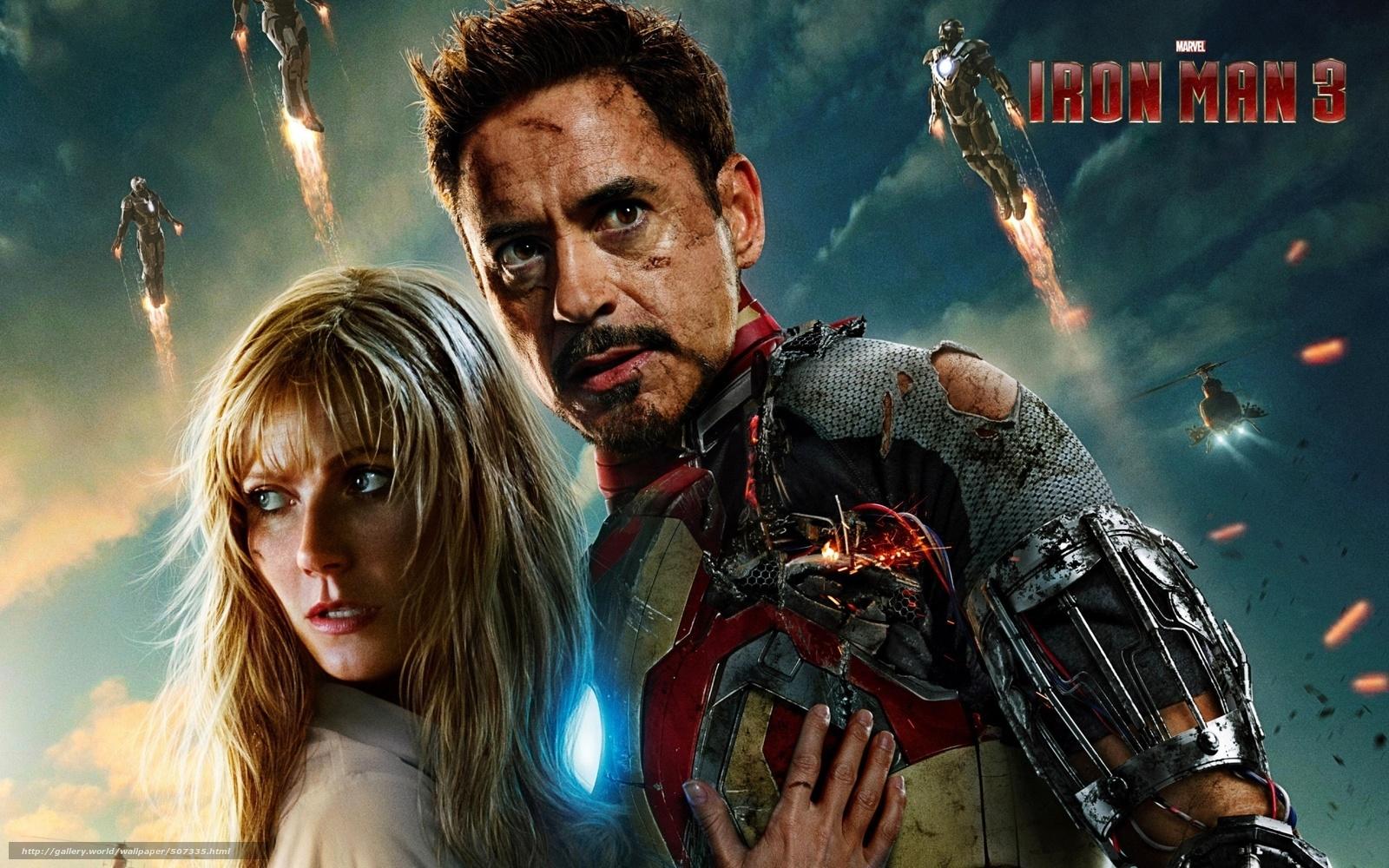 Download wallpaper Iron Man 3,  iron man 3,  film,  film free desktop wallpaper in the resolution 1920x1200 — picture №507335