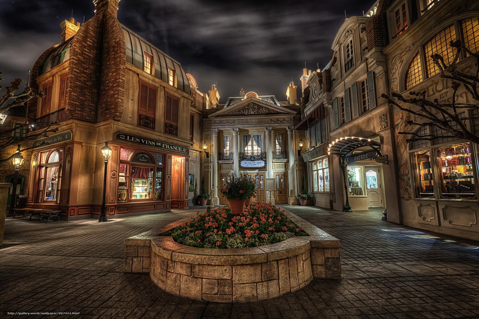 scaricare gli sfondi Stati Uniti d'America,  Disneyland,  casa,  Francia Sfondi gratis per la risoluzione del desktop 4592x3063 — immagine №507411