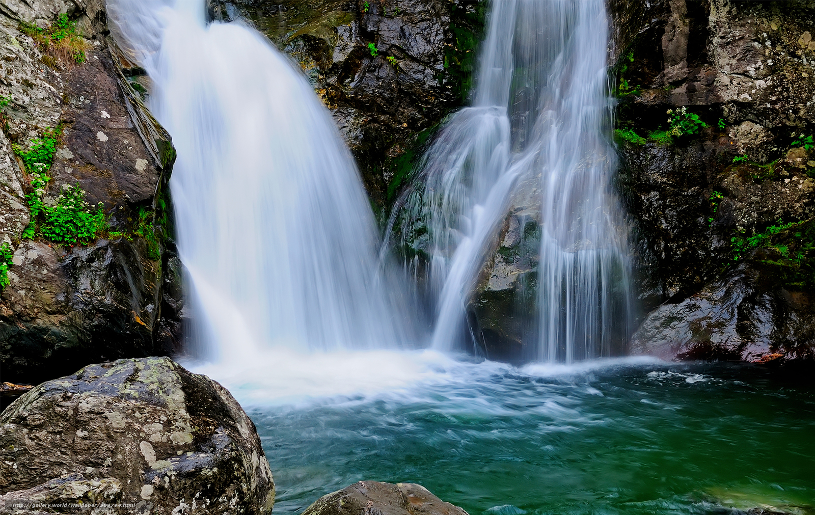 Обои потоки, скалы. Пейзажи foto 17