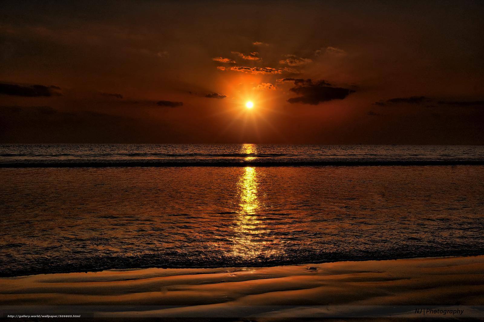 tlcharger fond d 39 ecran mer plage soleil coucher du soleil fonds d 39 ecran gratuits pour votre. Black Bedroom Furniture Sets. Home Design Ideas