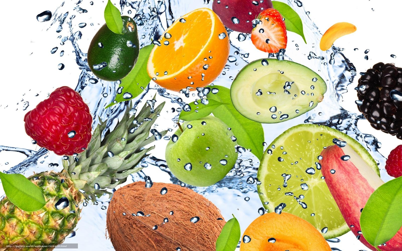 scaricare gli sfondi frutta,  fresco,  acqua,  gocce Sfondi gratis per la risoluzione del desktop 2560x1600 — immagine №510418