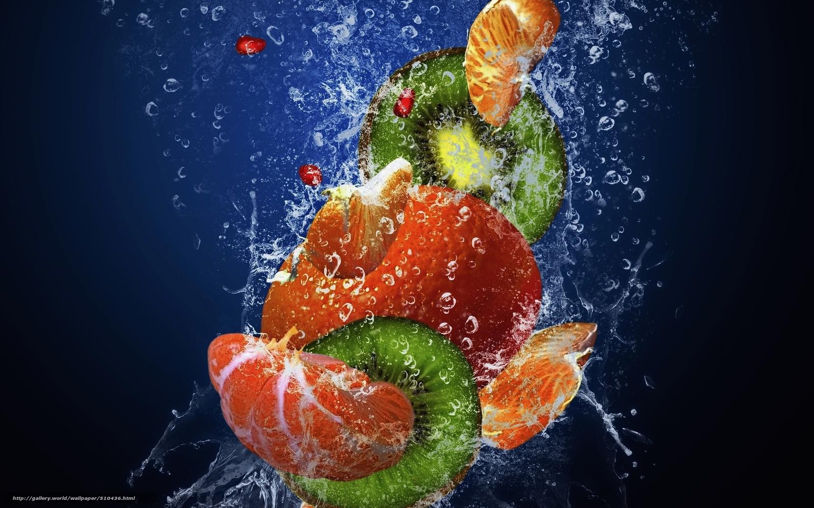 scaricare gli sfondi frutta,  fresco,  acqua,  gocce Sfondi gratis per la risoluzione del desktop 2560x1600 — immagine №510436