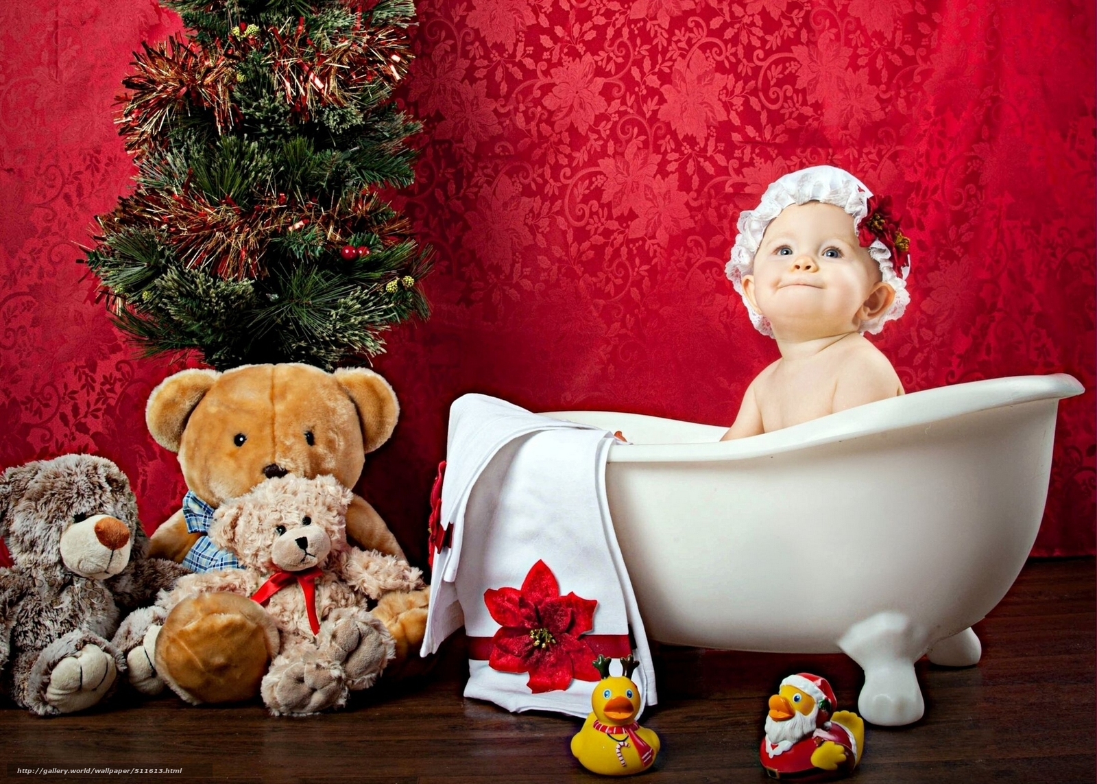 Download wallpaper bonnet,  toy,  baby,  child free desktop wallpaper in the resolution 1920x1371 — picture №511613