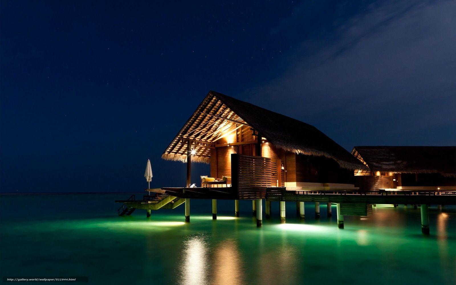 Обои Для Рабочего Стола Мальдивы Скачать