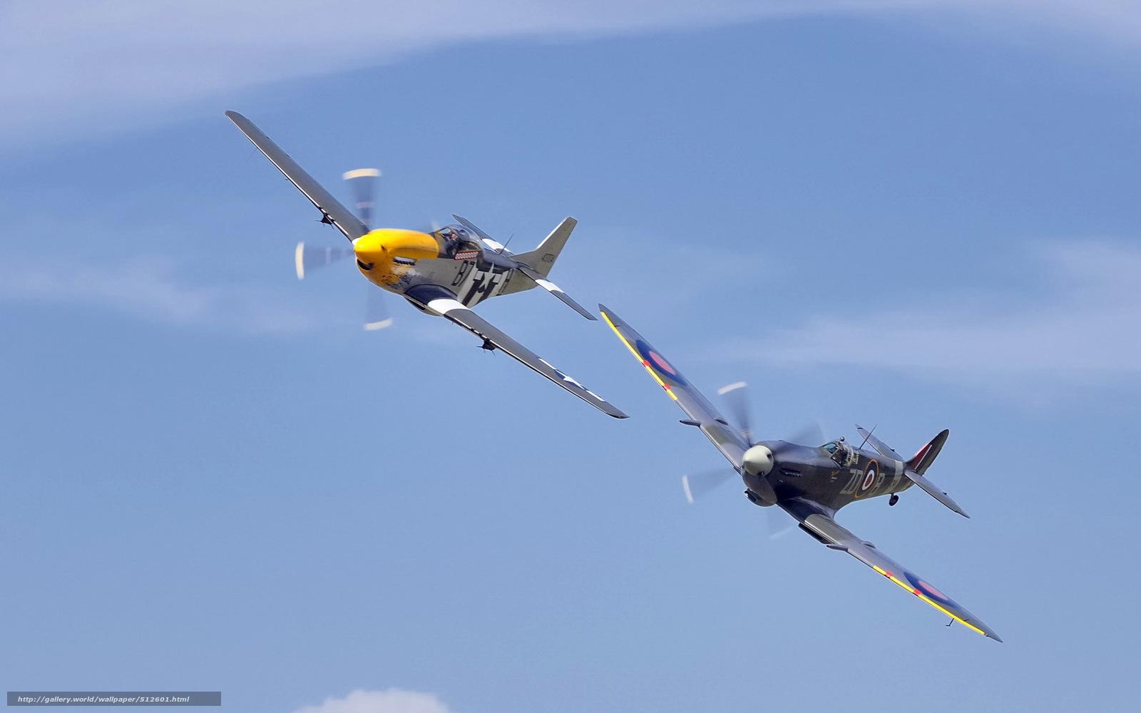 Скачать обои небо,  самолёты бесплатно для рабочего стола в разрешении 1920x1200 — картинка №512601