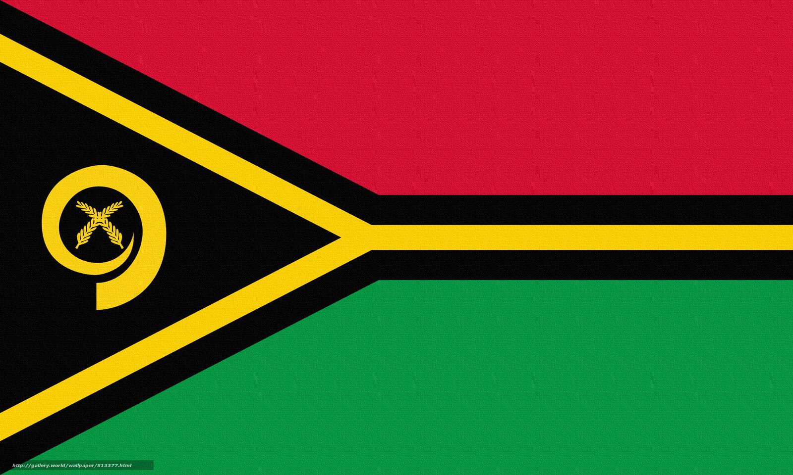 scaricare gli sfondi bandiera,  Vanuatu Sfondi gratis per la risoluzione del desktop 2560x1536 — immagine №513377
