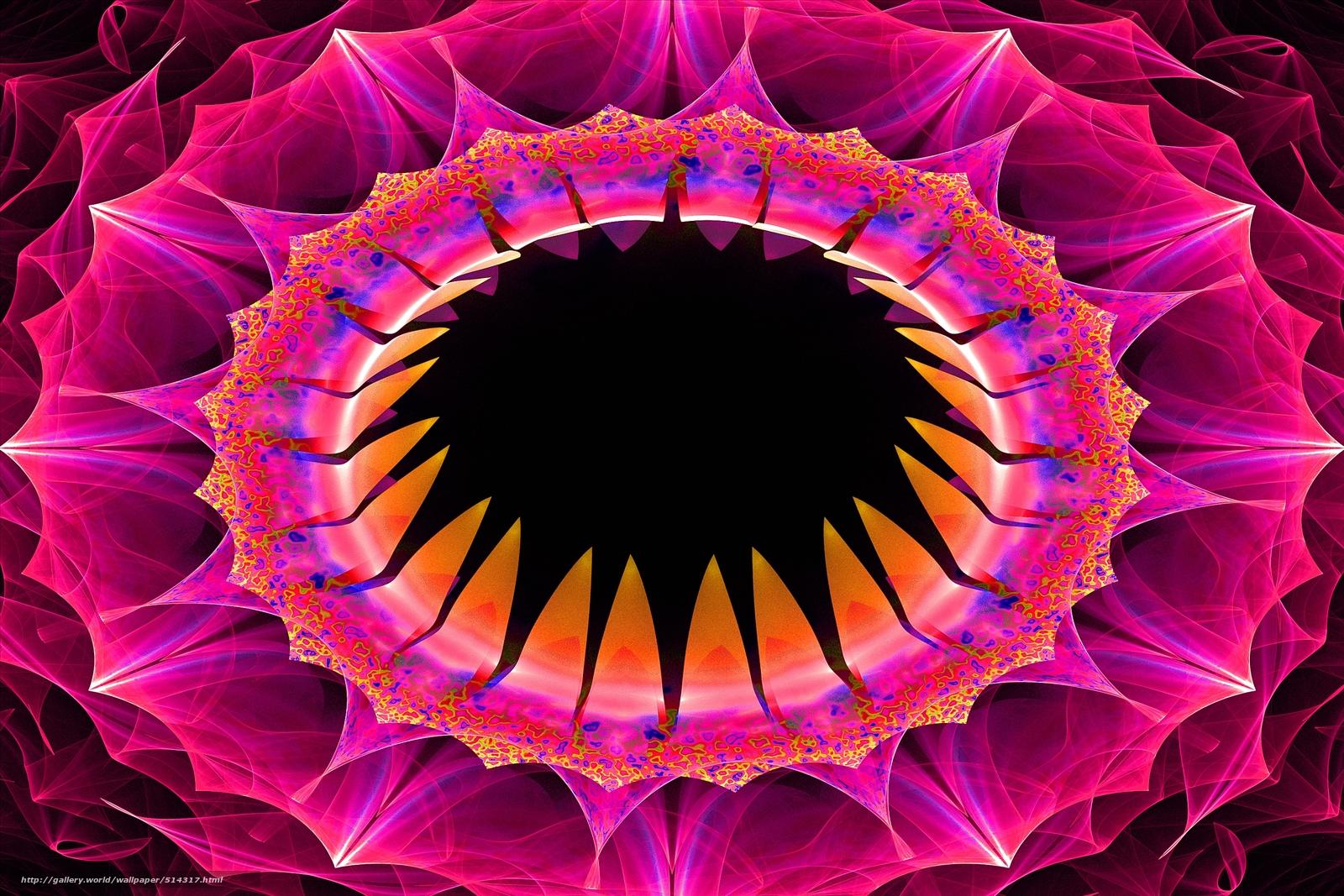Скачать обои raw fractals,  3d,  art бесплатно для рабочего стола в разрешении 3000x2000 — картинка №514317