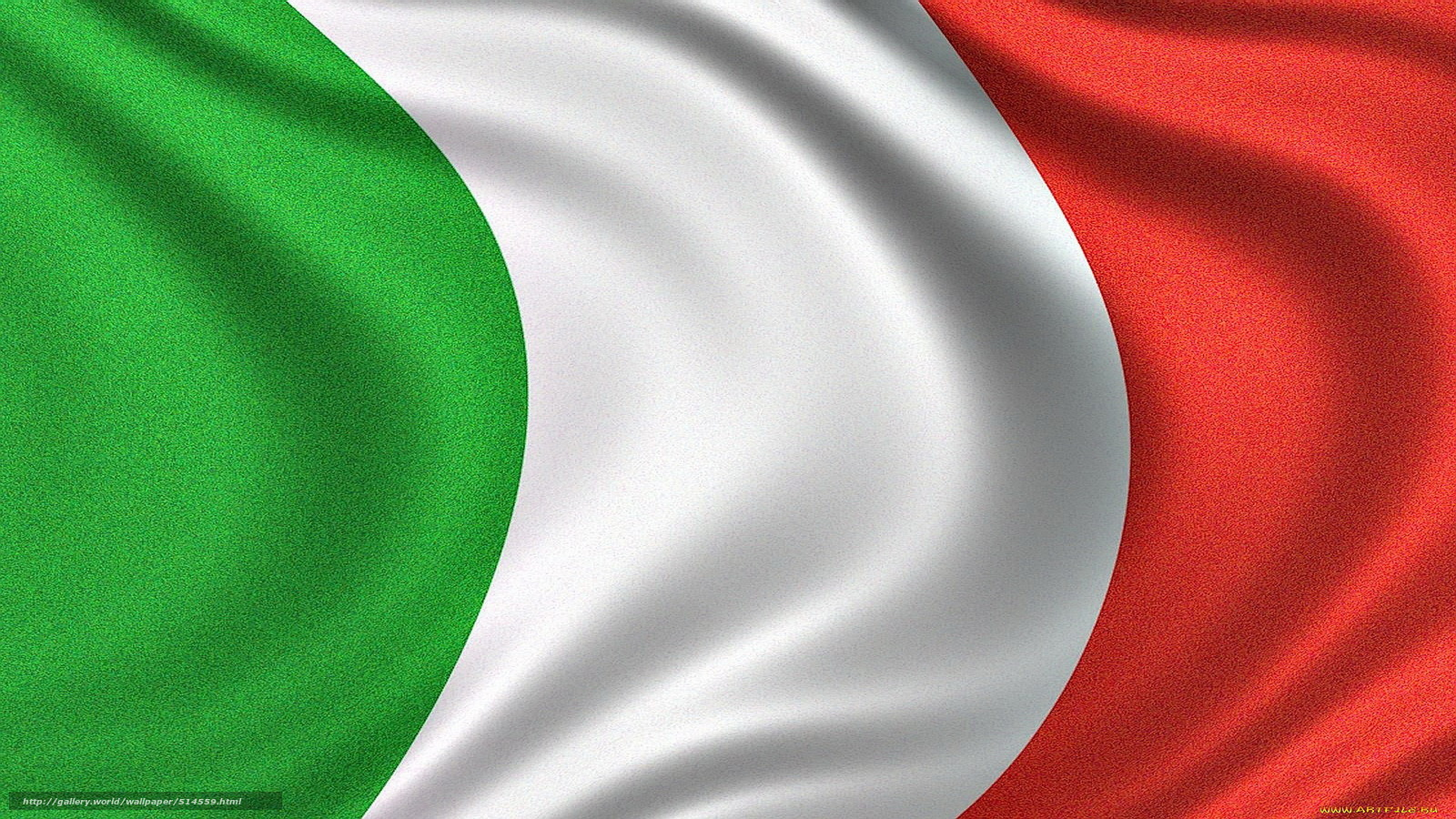 Download wallpaper Flag of Italy,  Italian Flag,  Italian Republic flag - flag of italy free desktop wallpaper in the resolution 1920x1080 — picture №514559