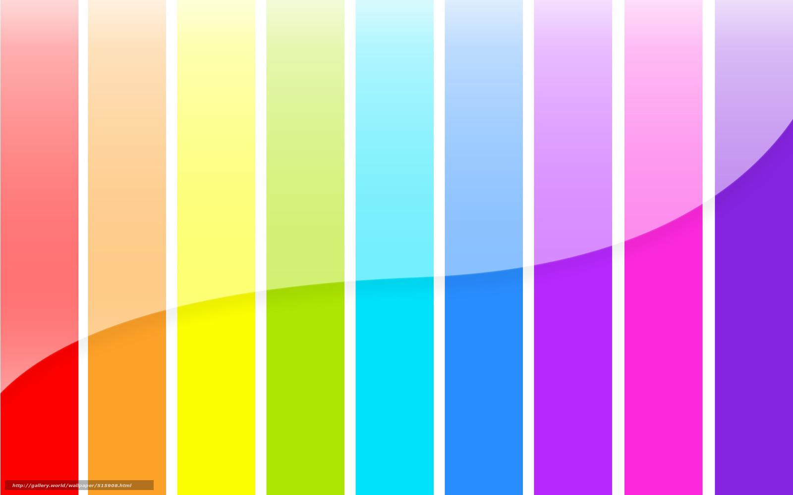 Скачать обои радуга,  полосы,  цвета бесплатно для рабочего стола в разрешении 1920x1200 — картинка №515908