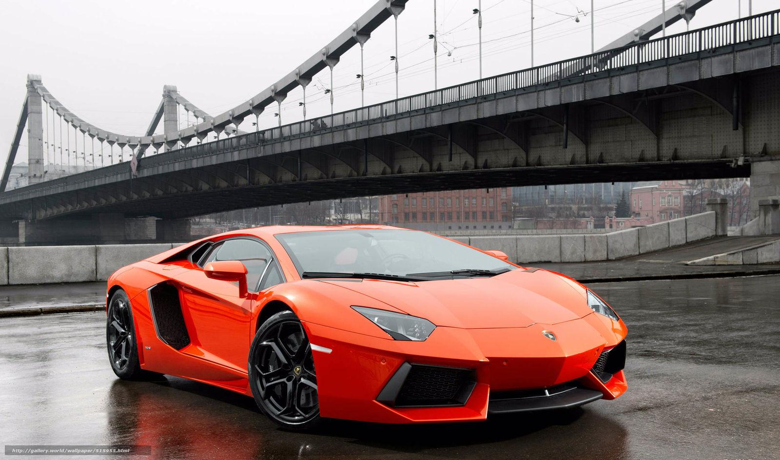 Tlcharger Fond D Ecran Orange Pont Lamborghini