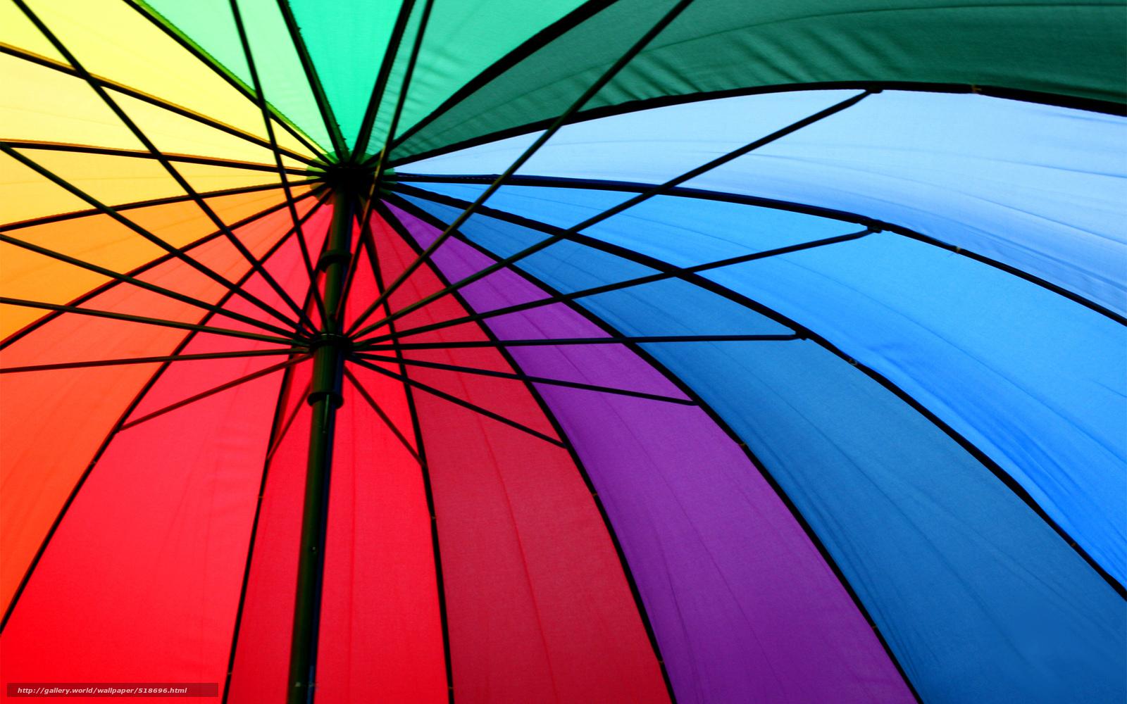 Скачать обои металл,  разноцветные,  спицы,  зонт бесплатно для рабочего стола в разрешении 1920x1200 — картинка №518696