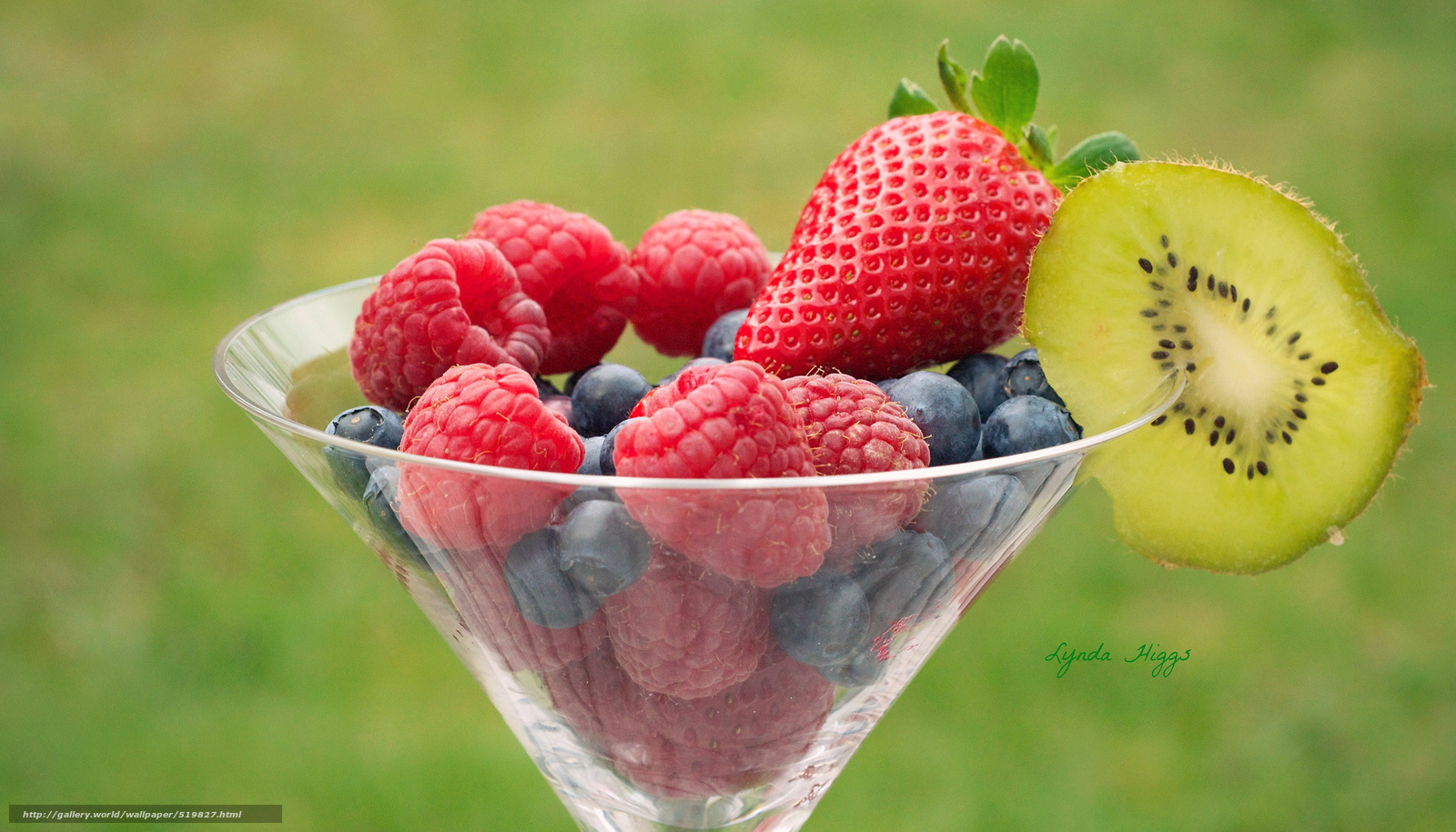 Download wallpaper Berries,  raspberry,  strawberry,  blueberry free desktop wallpaper in the resolution 2048x1171 — picture №519827