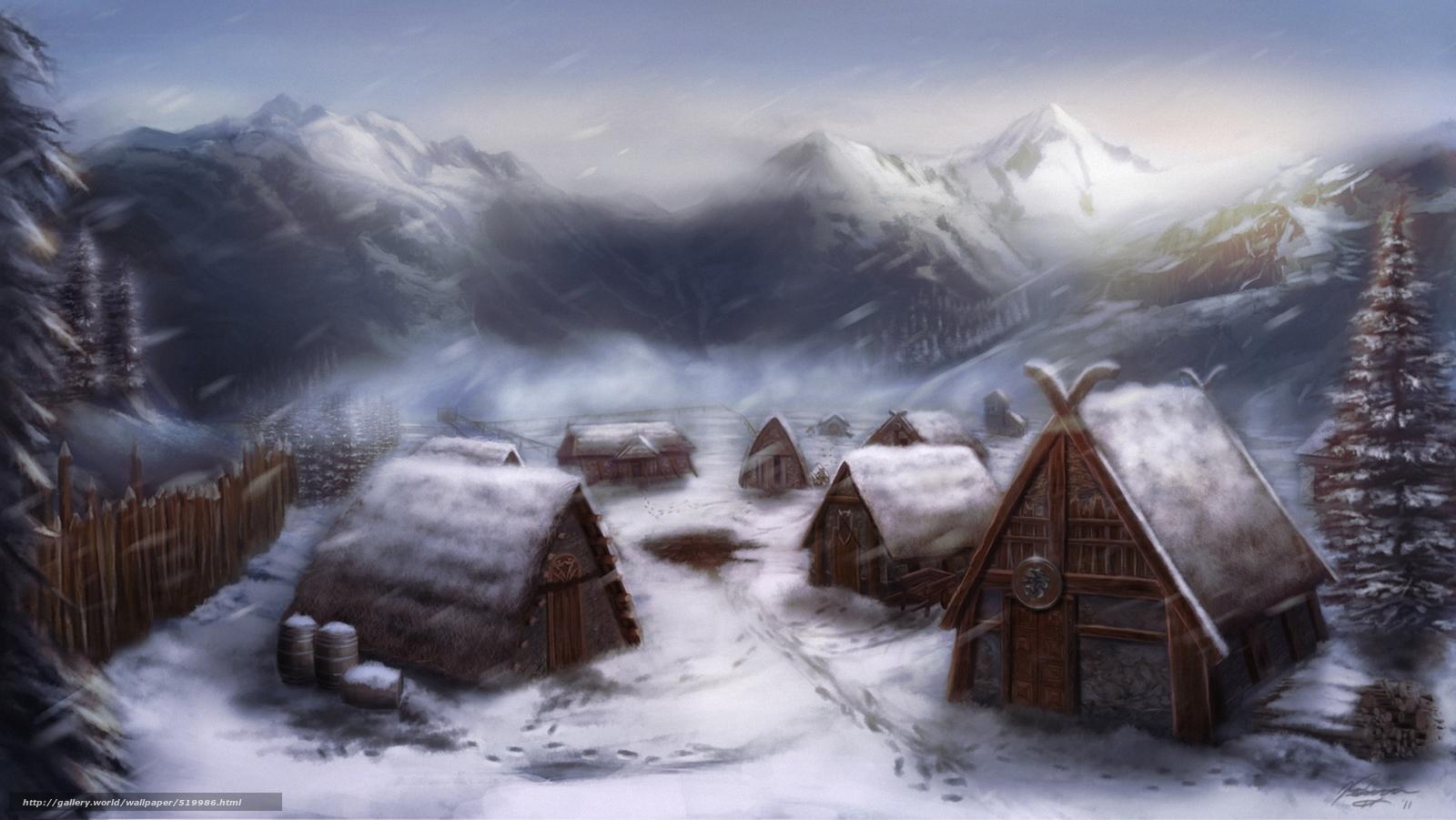 519986_derevnya_vikingi_doma_sneg_art_po
