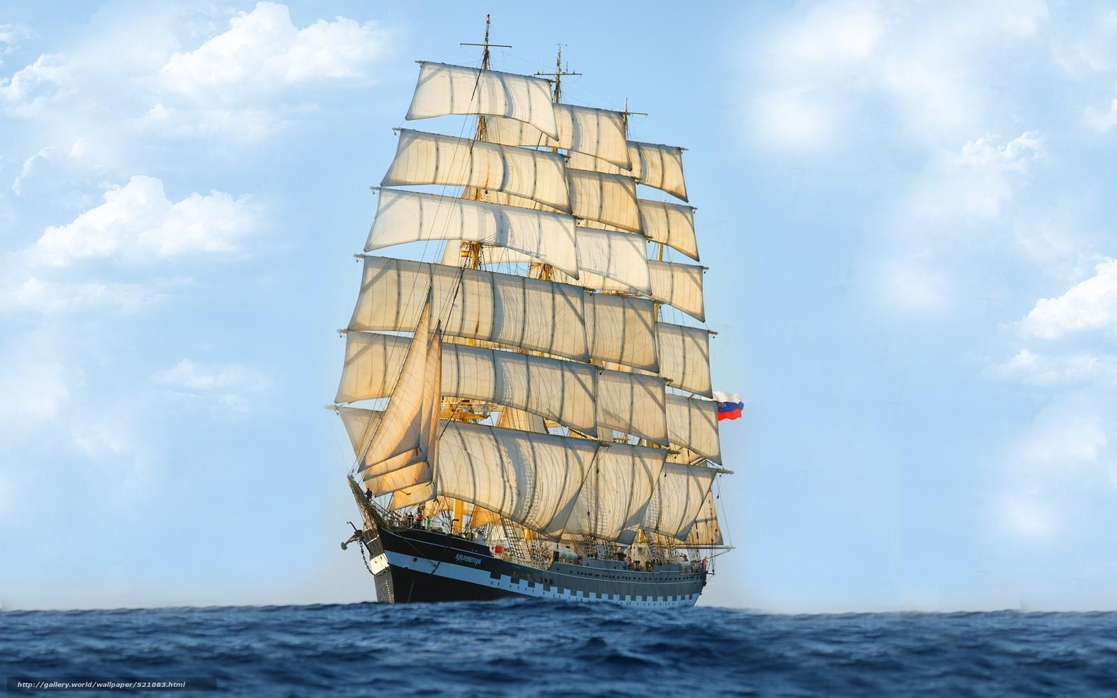 Segelschiffe auf dem meer  Download Hintergrund Meer, Schiff, Segelschiff Freie desktop ...