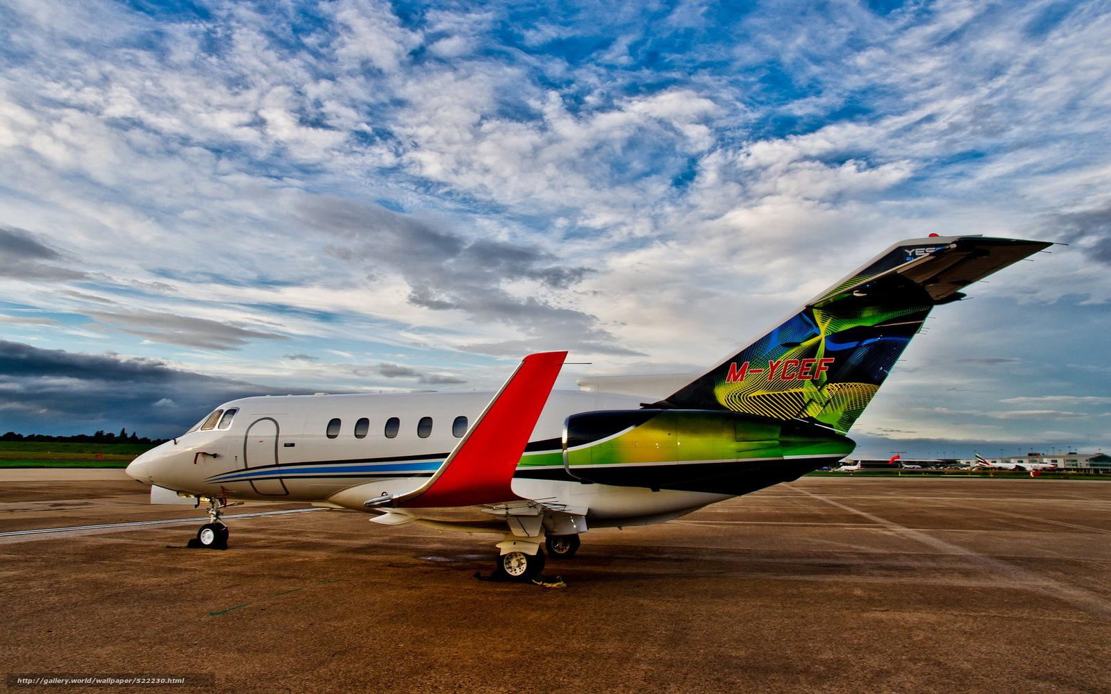 Скачать обои авиация,  самолёт,  аэродром бесплатно для рабочего стола в разрешении 1920x1200 — картинка №522230