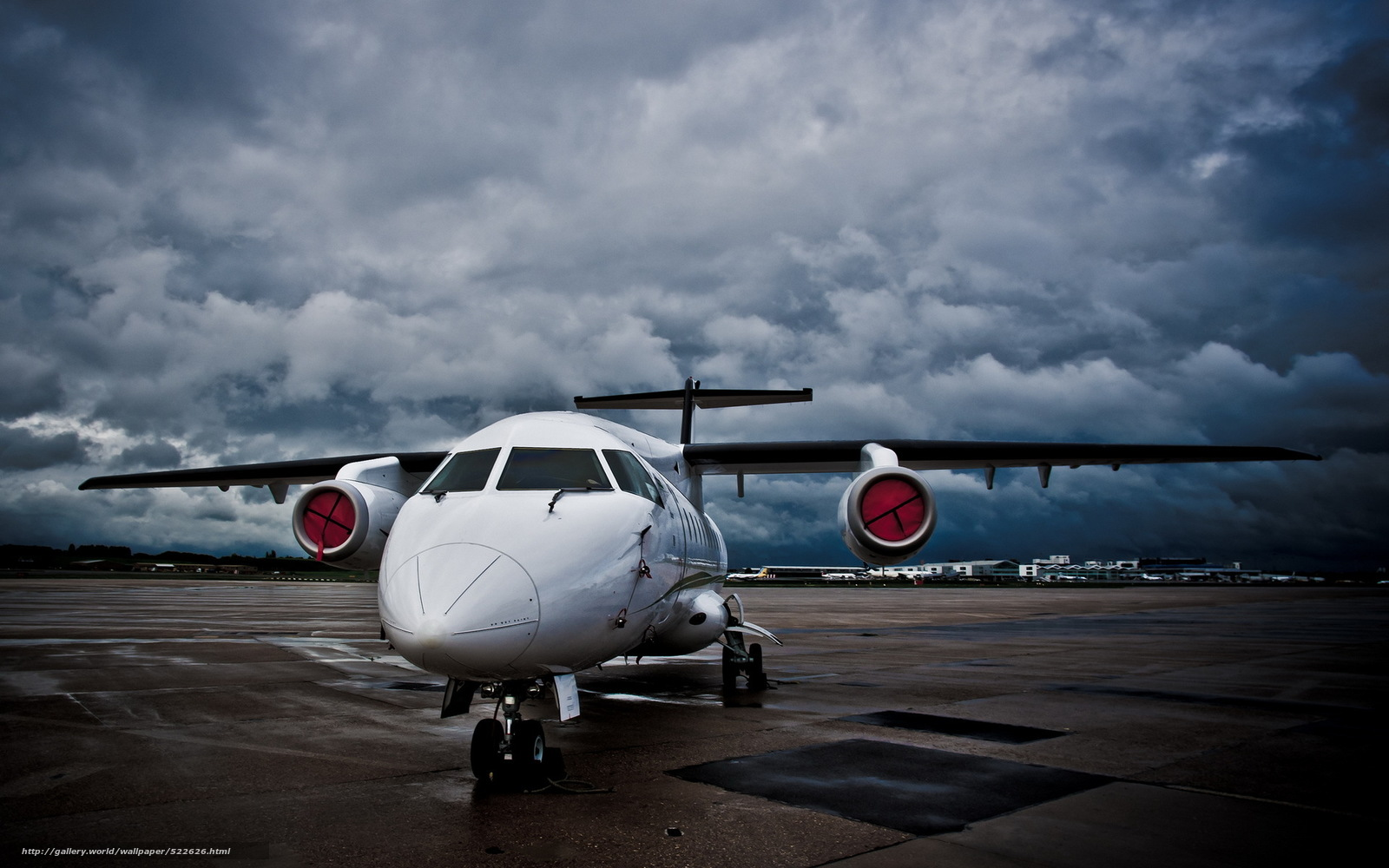 Скачать обои авиация,  аэродром,  самолёт бесплатно для рабочего стола в разрешении 1920x1200 — картинка №522626