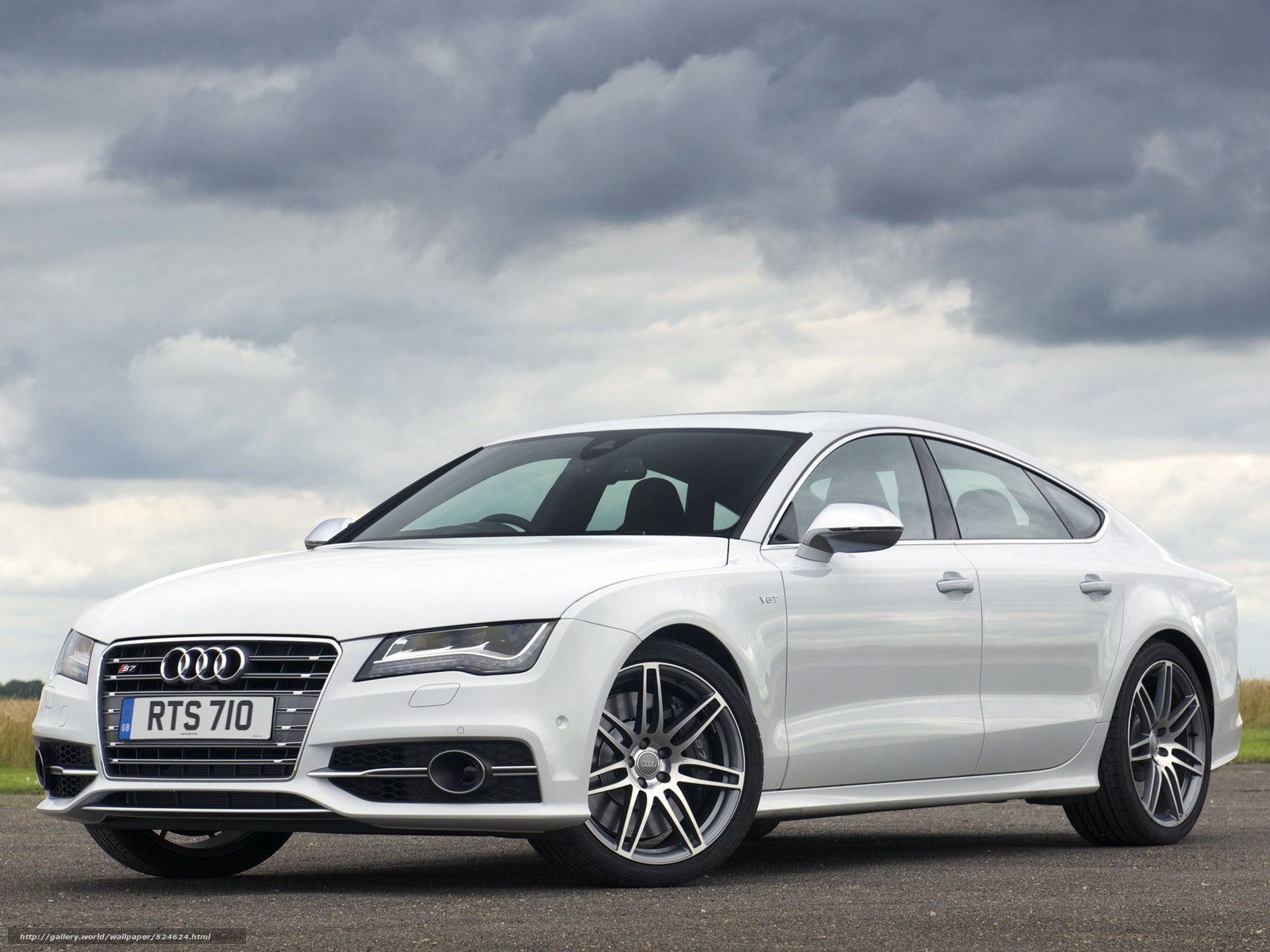 Download wallpaper Audi,  S7,  Audi,  White free desktop wallpaper in the resolution 2048x1536 — picture №524624