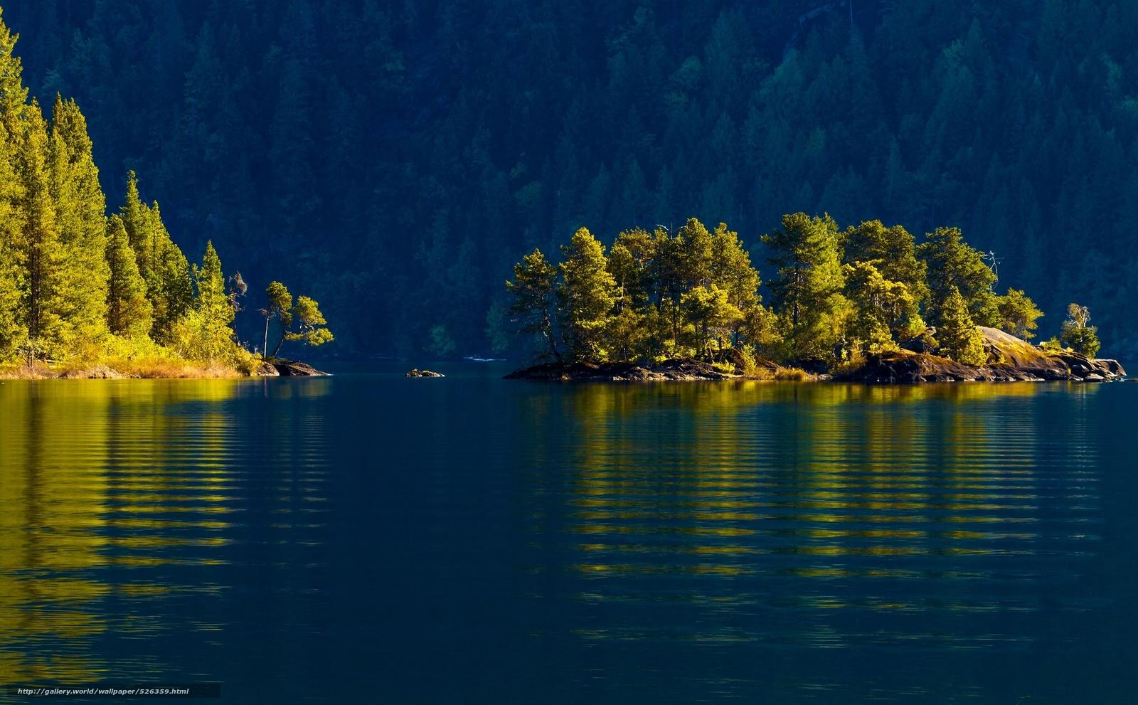 Download wallpaper cowichan lake,  vancouver island,  canada,  Lake Kauichan free desktop wallpaper in the resolution 2048x1268 — picture №526359