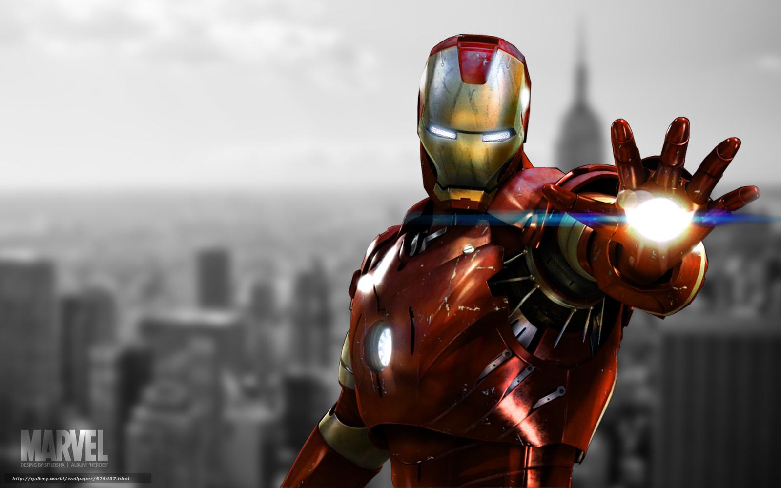 Download wallpaper iron man,  New York,  marvel,  film free desktop wallpaper in the resolution 1920x1200 — picture №526437