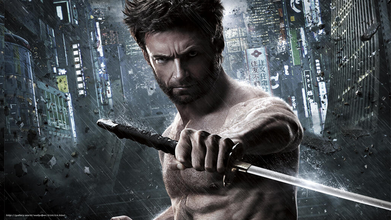 Download wallpaper Wolverine: The Immortal,  the wolverine,  Hugh Jackman,  Hugh Jackman free desktop wallpaper in the resolution 1920x1080 — picture №528224