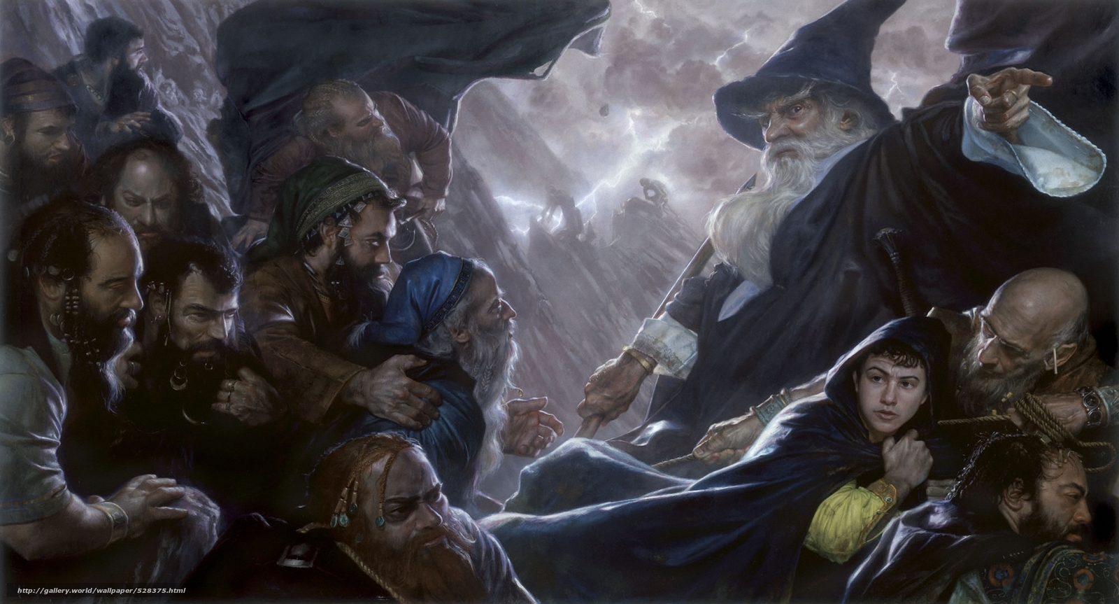 scaricare gli sfondi mago,  Gnomi,  Bilbo Baggins,  grotta Sfondi gratis per la risoluzione del desktop 2002x1080 — immagine №528375
