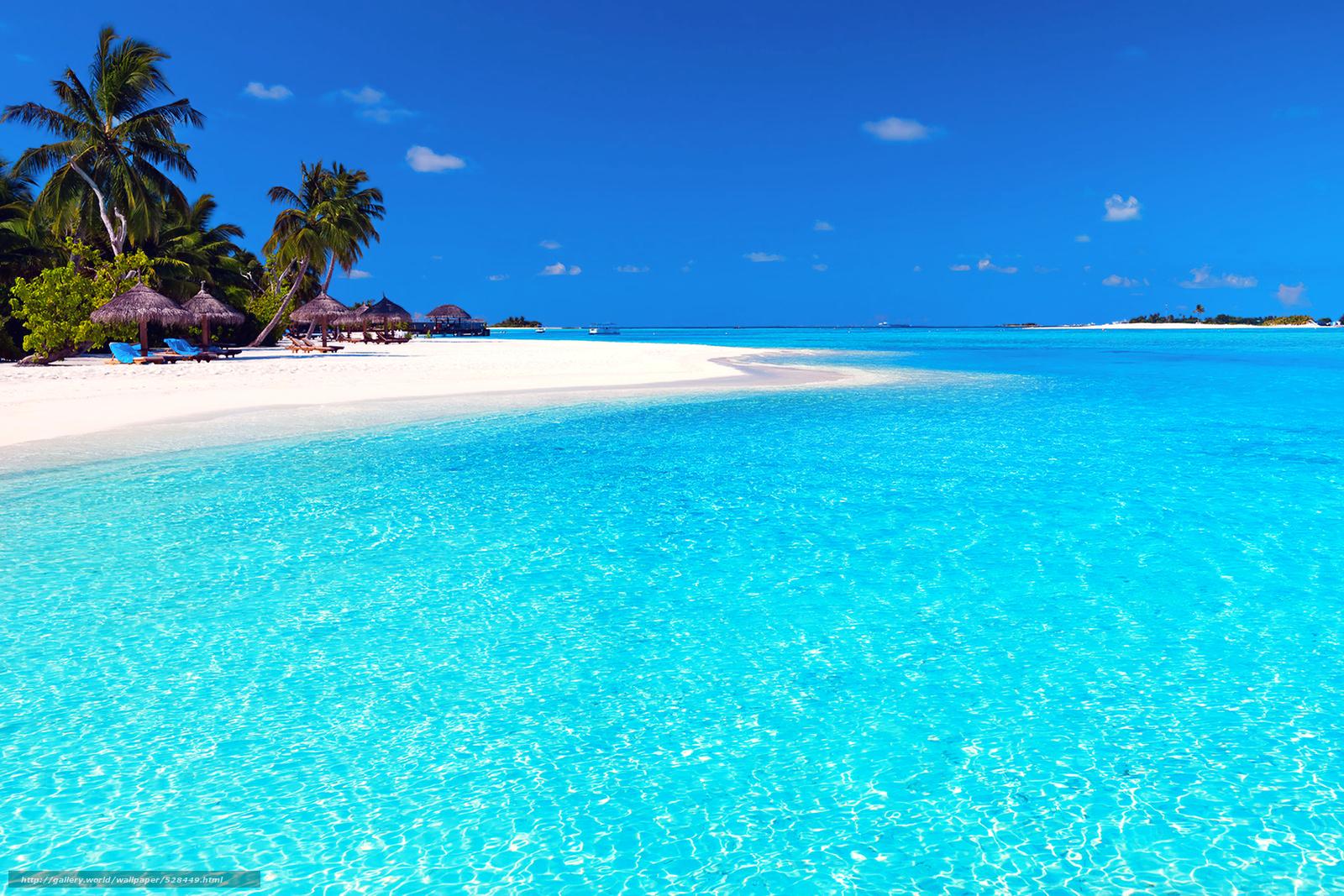 Tlcharger fond d 39 ecran maldives des tropiques plage for Fond ecran plage gratuit