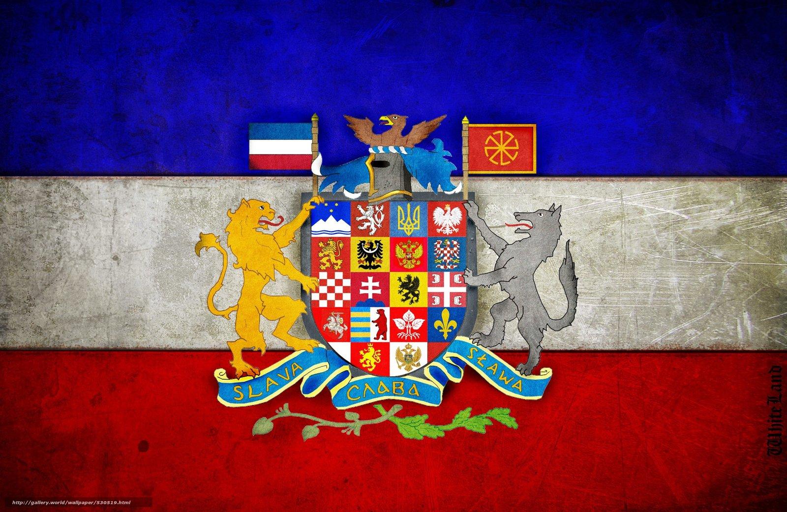 Resultado de imagem para bandeira pan-eslava