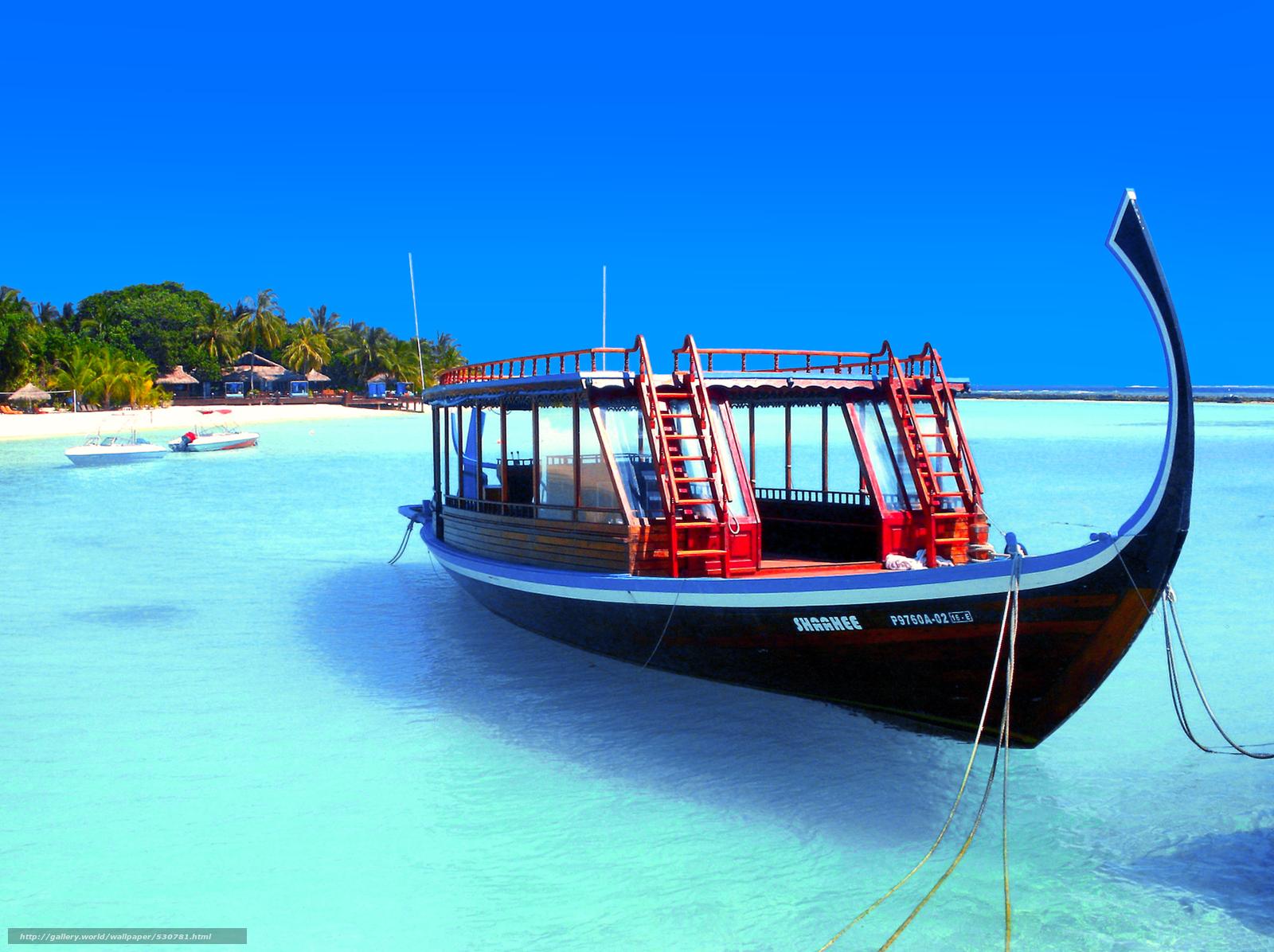 Tlcharger Fond D Ecran Maldives Des Tropiques Bateau Fonds D Ecran Gratuits Pour Votre Rsolution Du Bureau 2382x1780 Image 530781