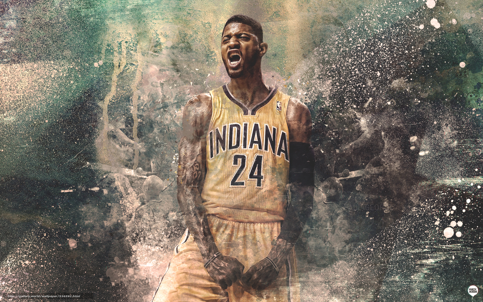 Tlcharger Fond d'ecran Paul George, Paul George, indiana, Pacers Fonds ...
