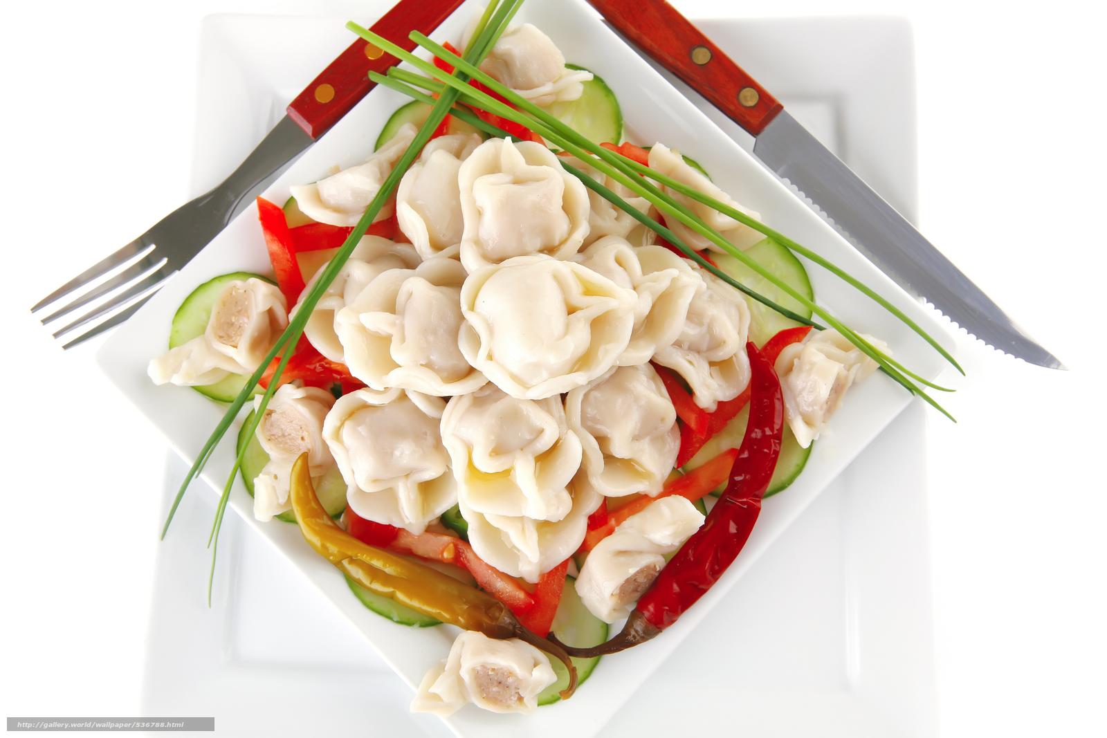 Download wallpaper pelmeni,  vegetables,  food free desktop wallpaper in the resolution 8736x5824 — picture №536788