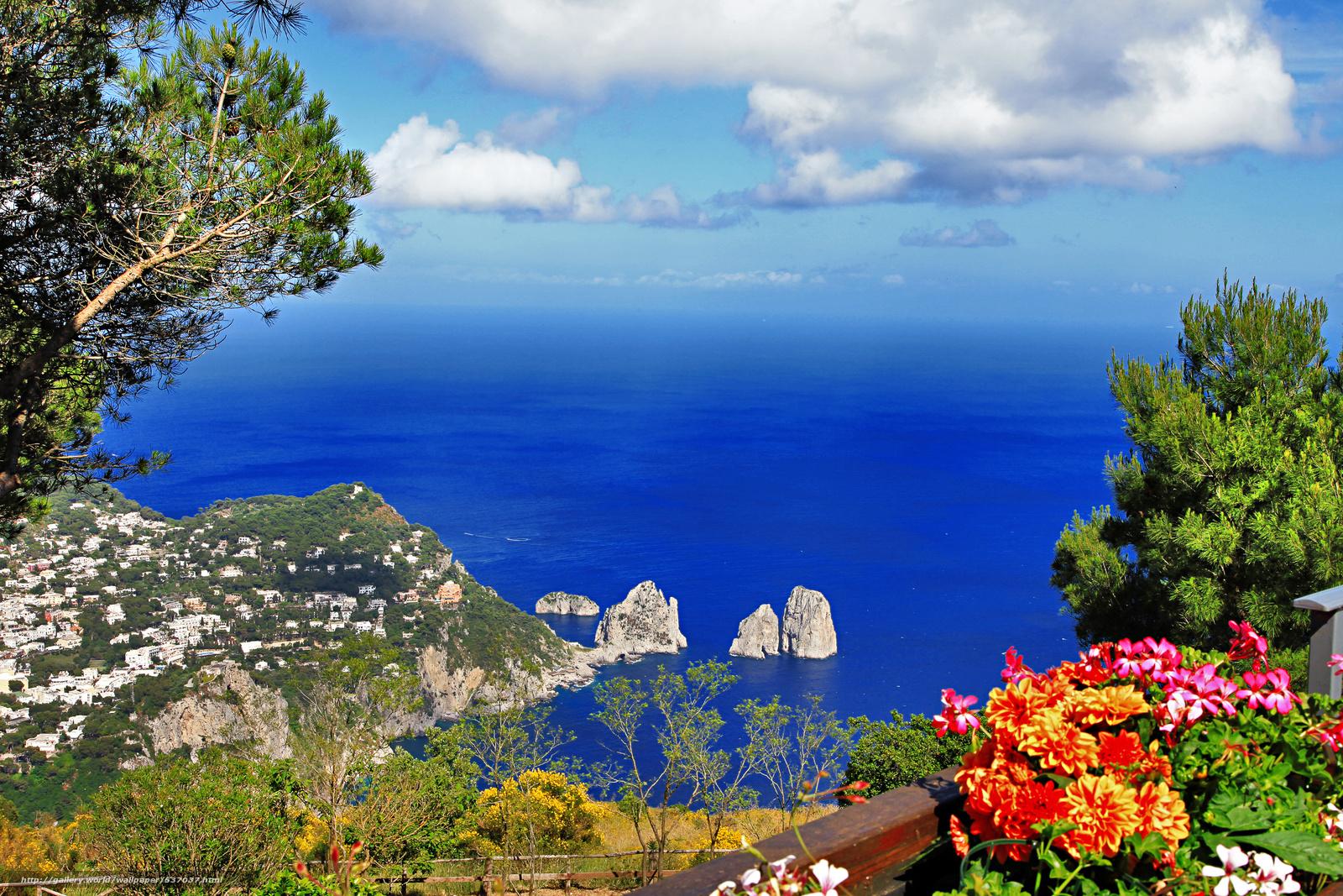 Scaricare Gli Sfondi Anacapri Capri Campania Napoli Sfondi Gratis
