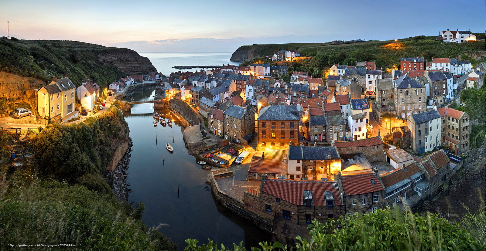 Download Wallpaper Whitby North Yorkshire England Free