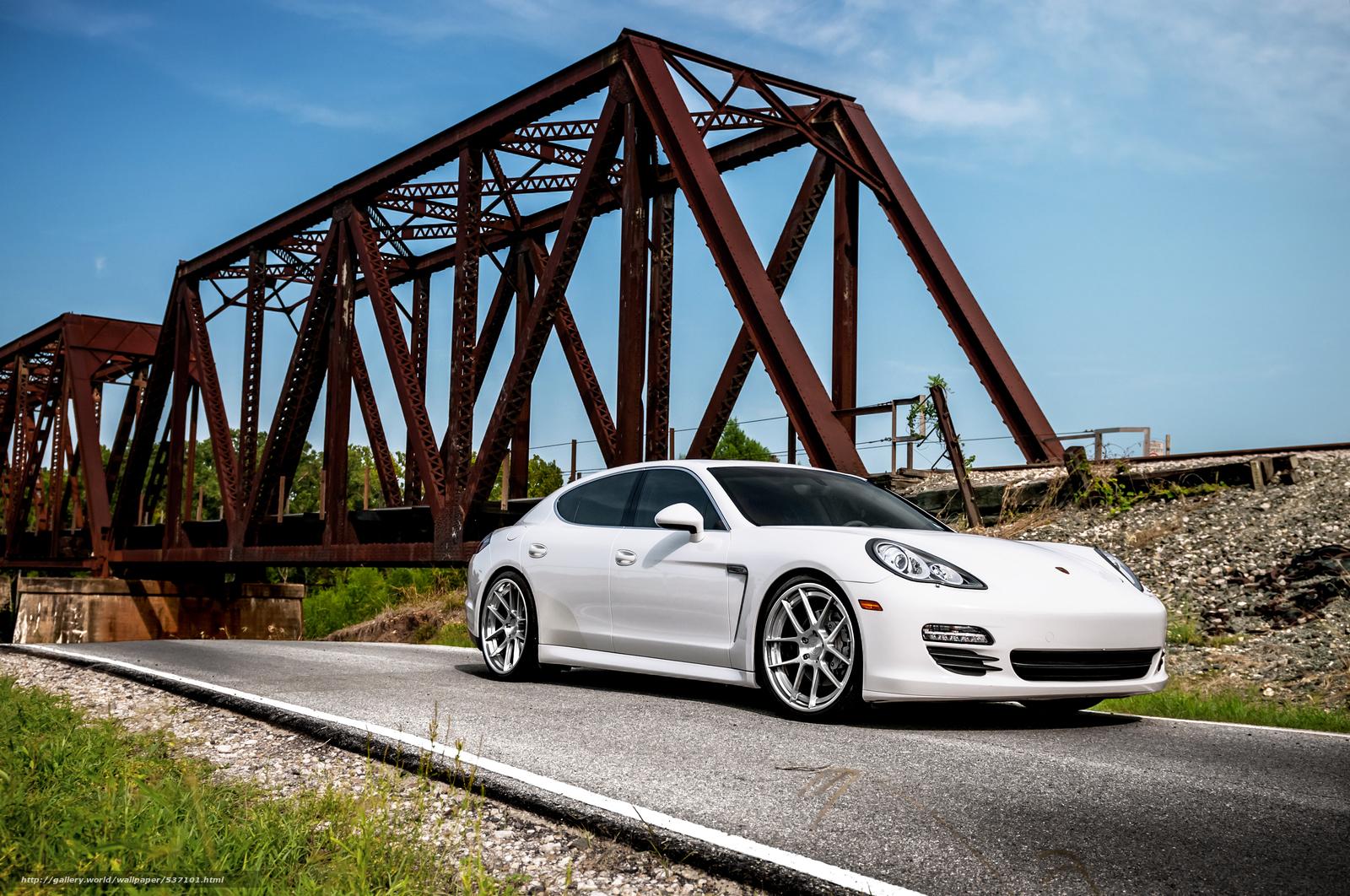 scaricare gli sfondi EVS,  ADV.1,  Bianco Porsche,  Panamera Sfondi gratis per la risoluzione del desktop 4171x2769 — immagine №537101