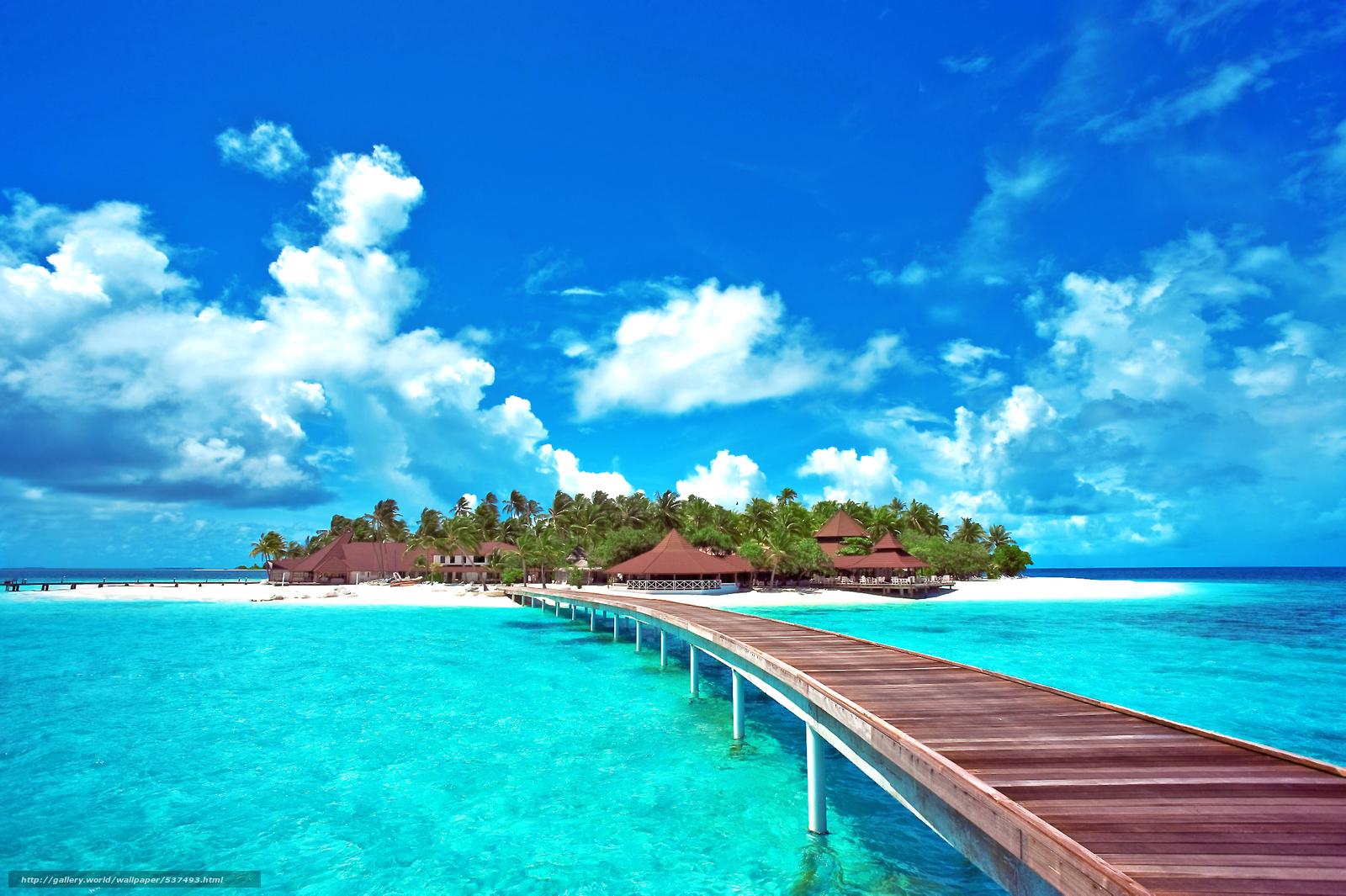 Hd wallpaper beach - Tlcharger Fond D Ecran Tropiques Mer 238 Le Males Fonds