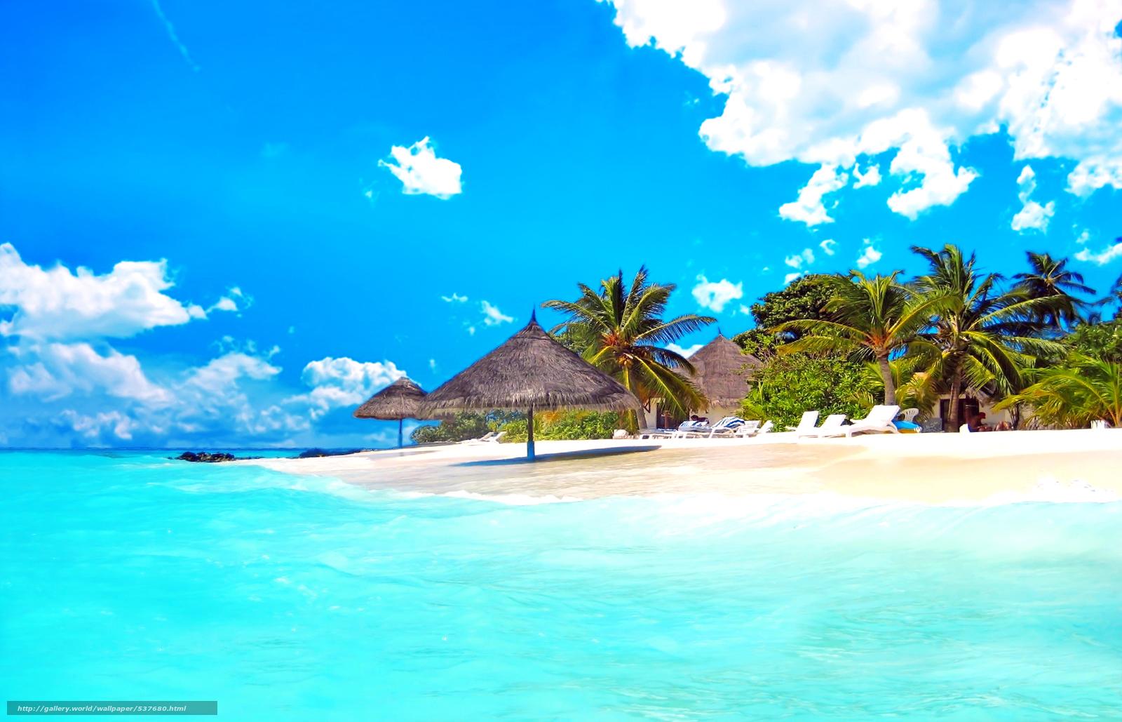 scaricare gli sfondi tropici,  mare,  spiaggia Sfondi gratis per la risoluzione del desktop 2918x1877 — immagine №537680