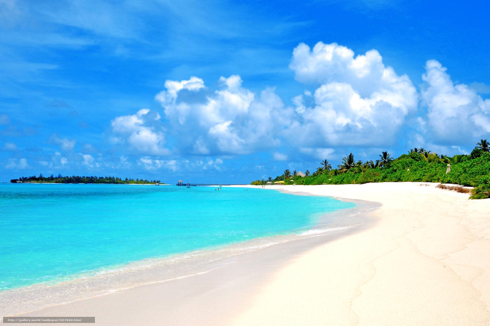 Scaricare gli sfondi tropici mare spiaggia sfondi gratis for Foto per desktop mare