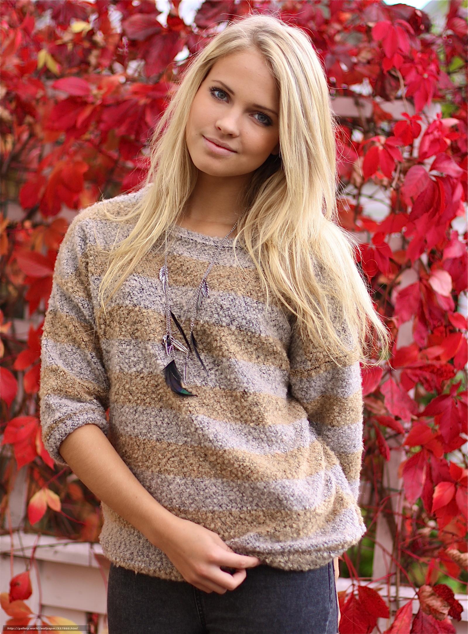 Просто Красивые Девушки Блондинки Из Обычной Жизни