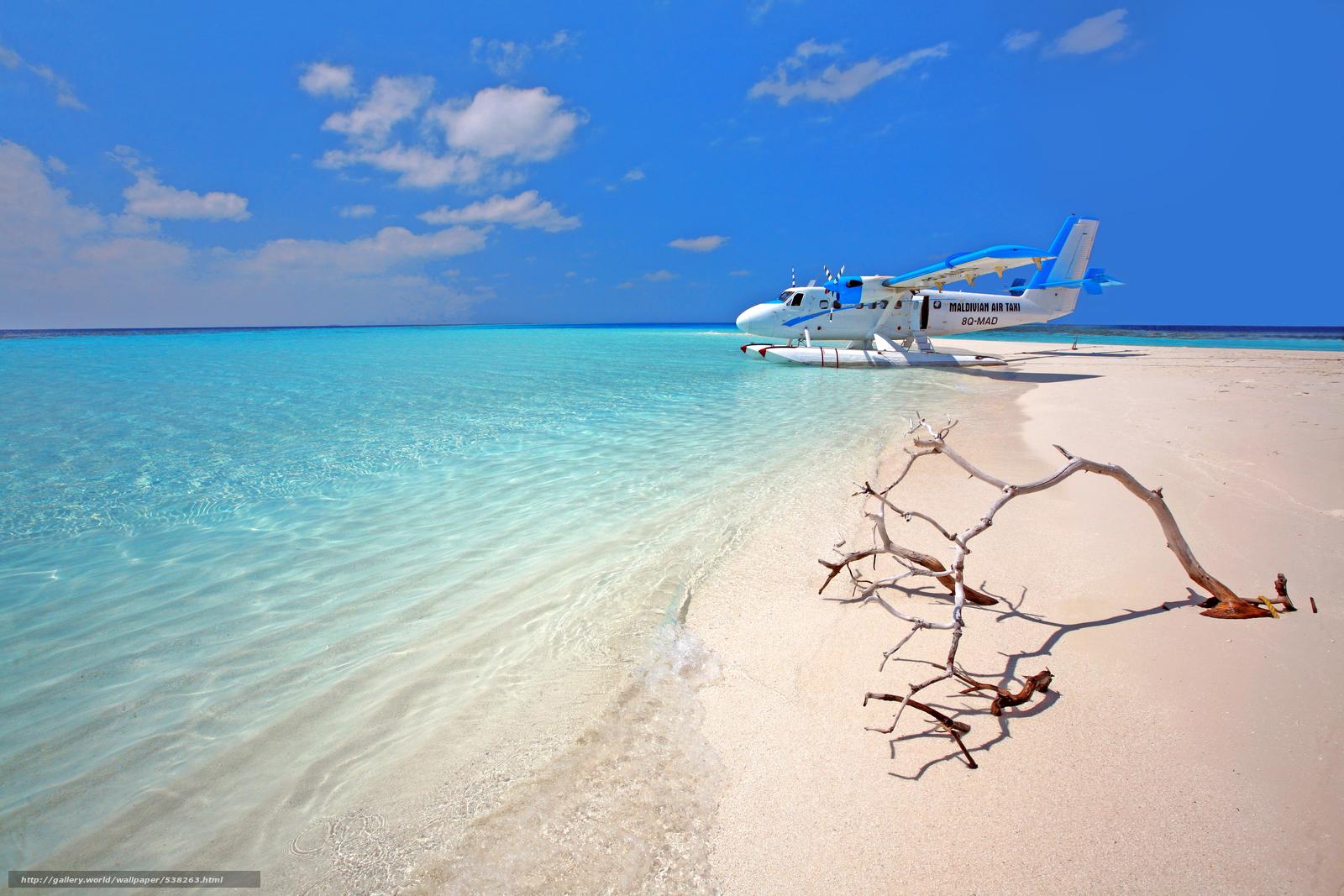 scaricare gli sfondi tropici,  Maldive,  mare,  spiaggia Sfondi gratis per la risoluzione del desktop 4368x2912 — immagine №538263
